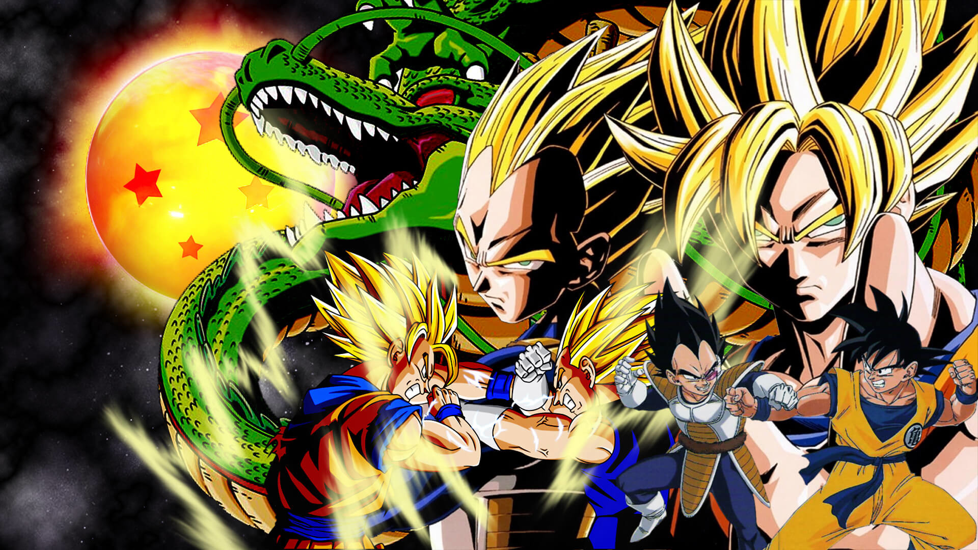 goku vs vegeta wallpaper (65+ images)