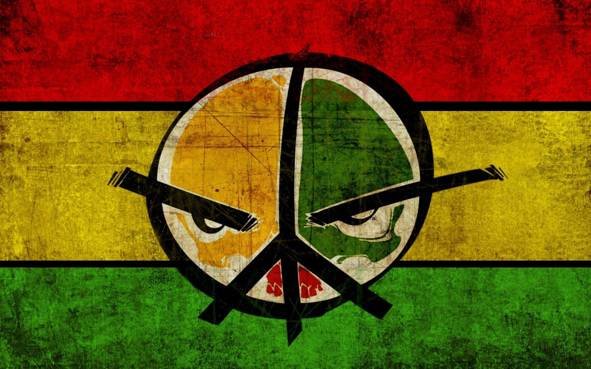 1920x1200 Images For > Rasta Peace Wallpaper