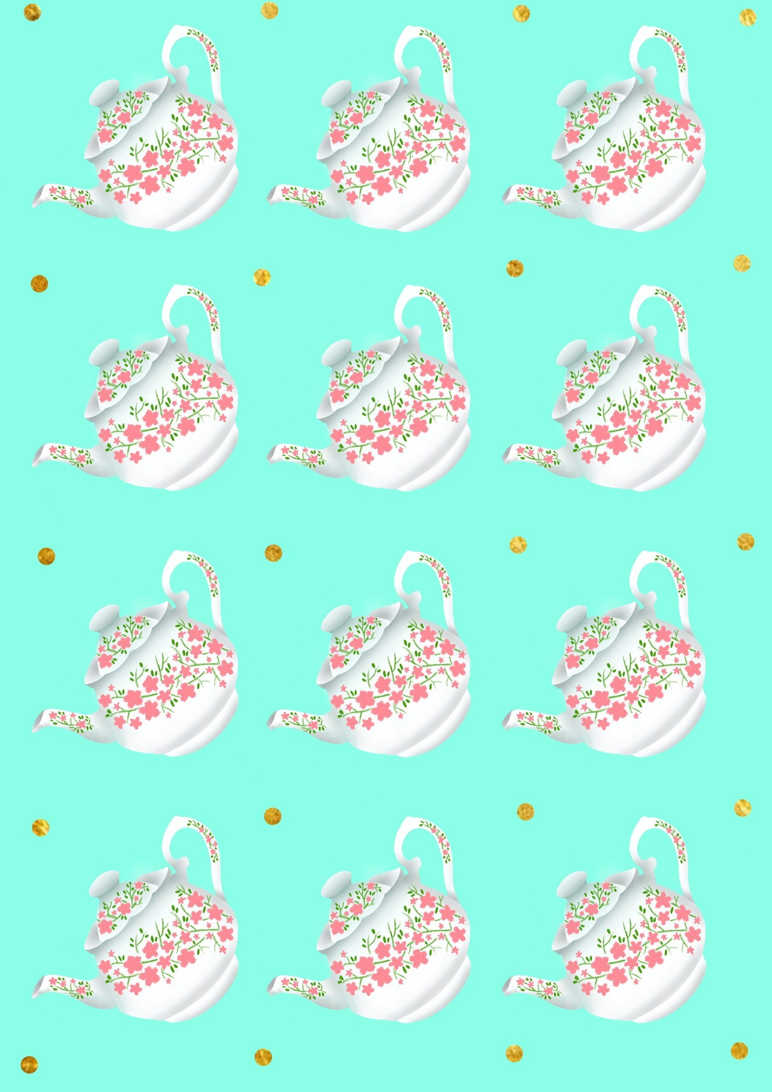1536x2173 Teapot wallpaper.