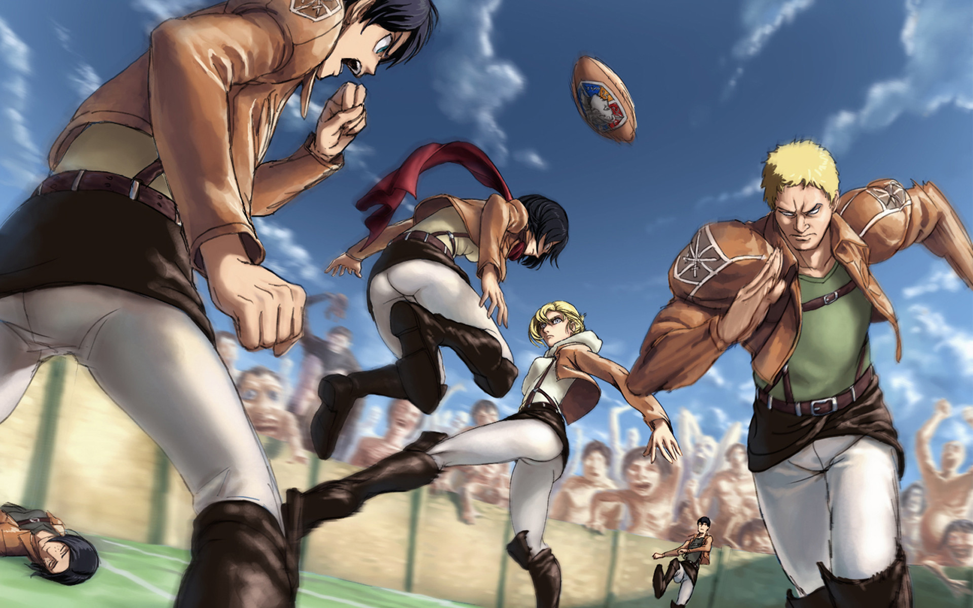 1920x1200 attack on titan / shingeki no kyojin anime hd wallpaper , image