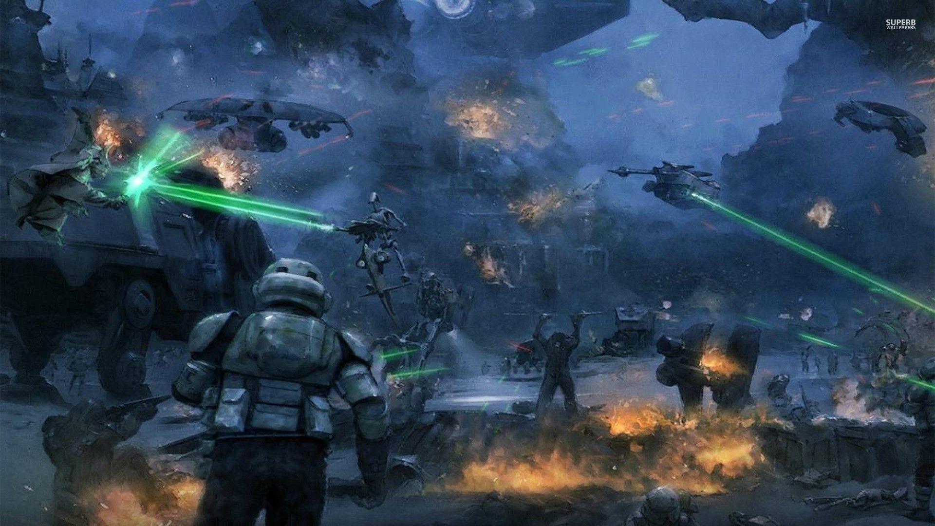 Star Wars Battle Backgrounds: 501St Clone Trooper Wallpaper (64+ Images