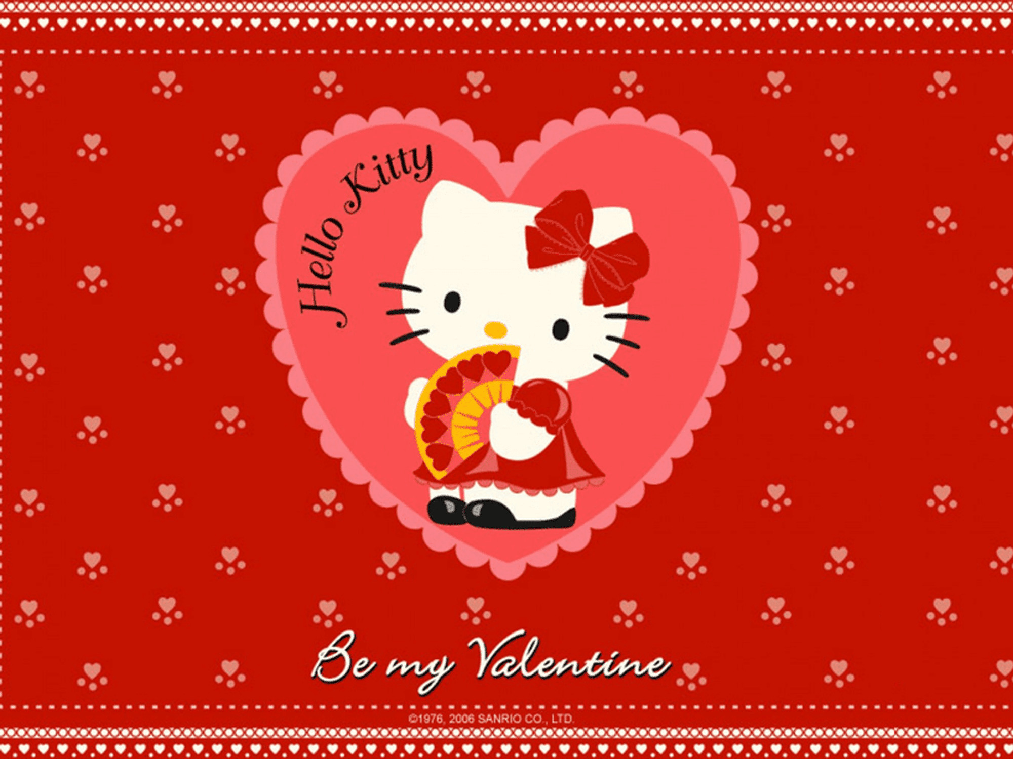 Hello Kitty Valentines Day Wallpaper 59 images – Hello Kitty Valentine Cards