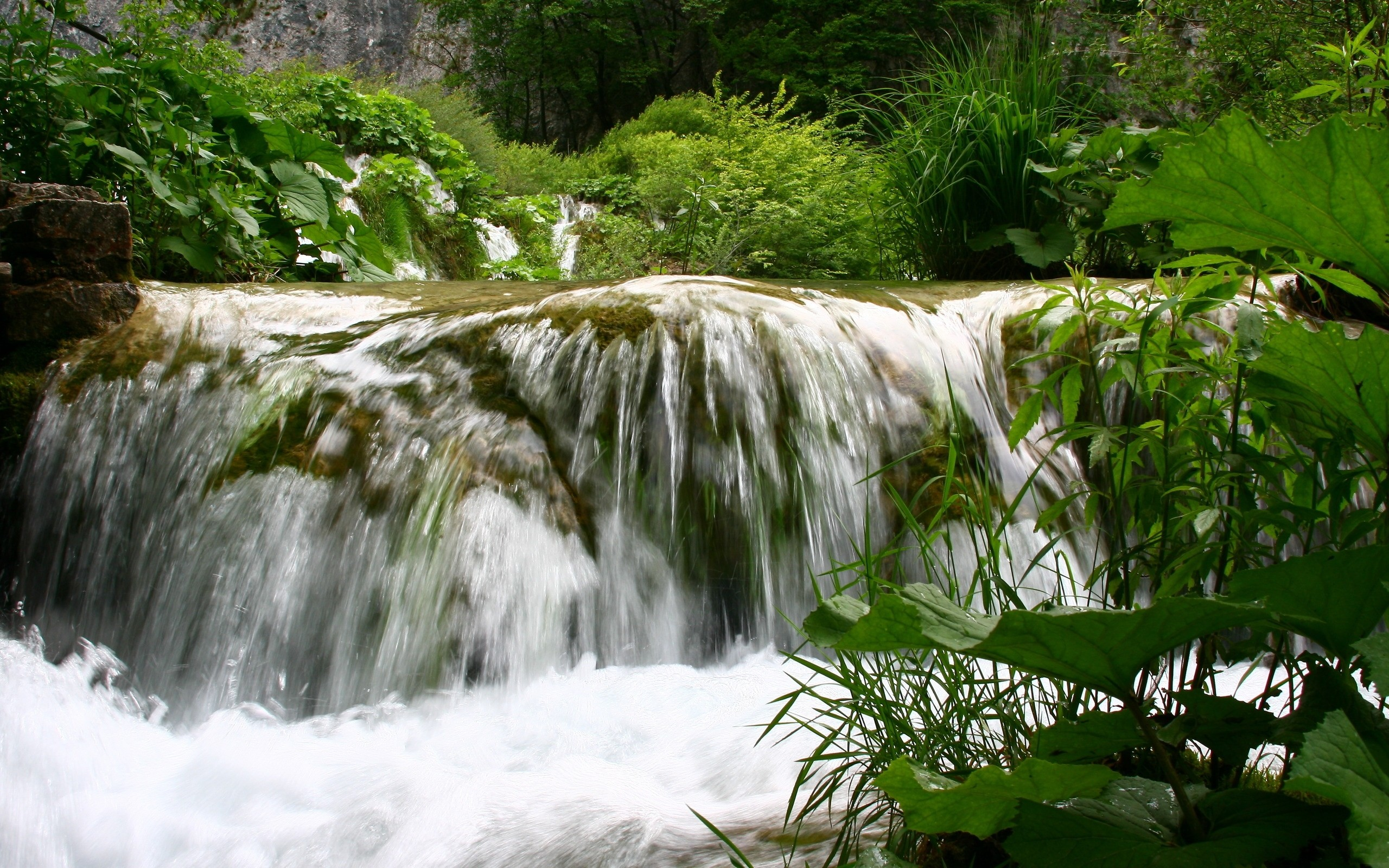 2560x1600 ... desktop wallpapers free Waterfall ...