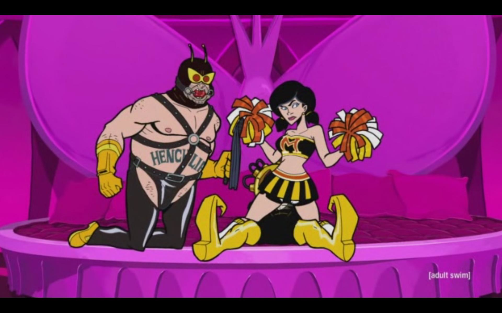 1920x1200 Brought to you be Venture Bros season 4 episode 14 [SPOILERS?]