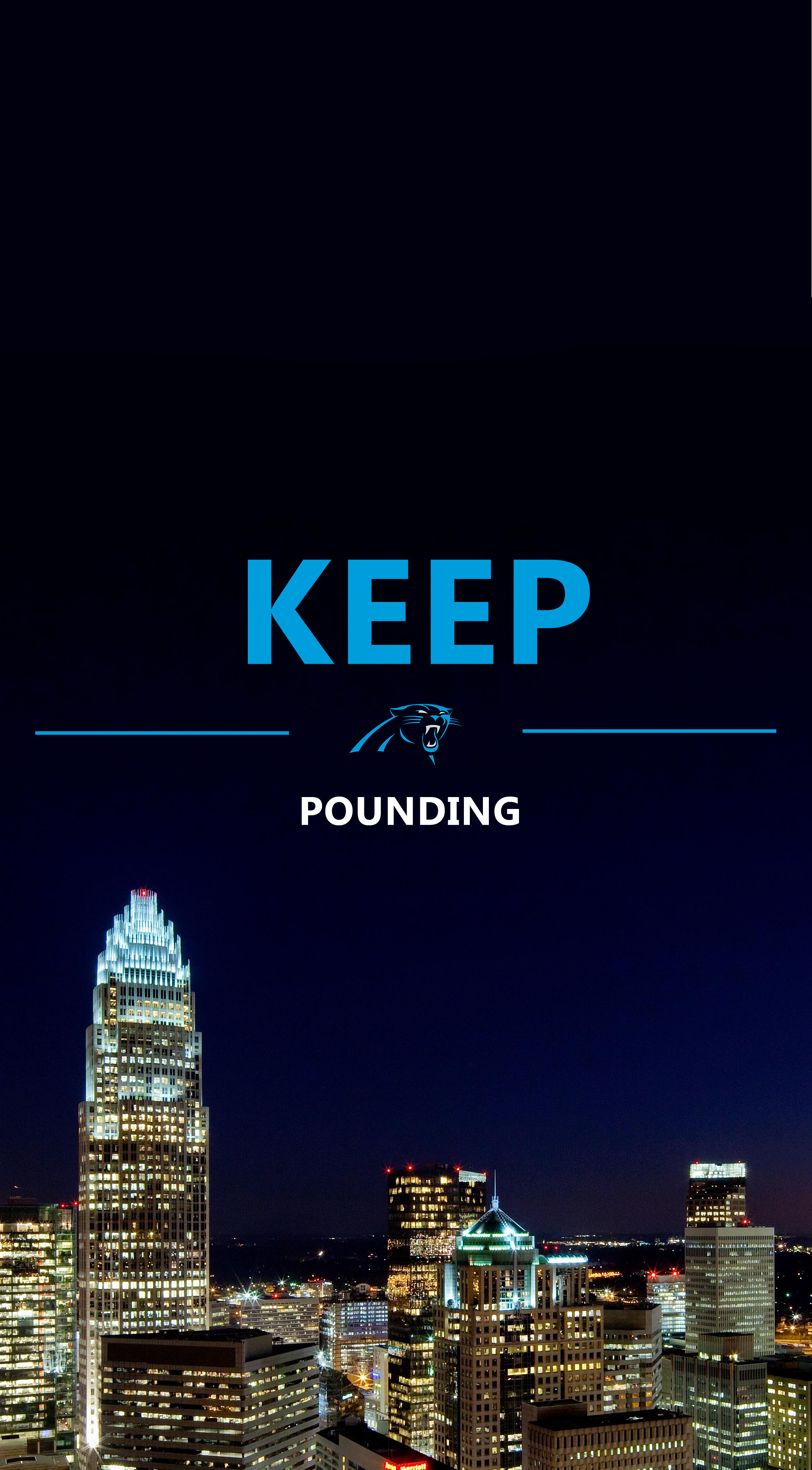2048x3707 Carolina Panthers Phone Wallpaper