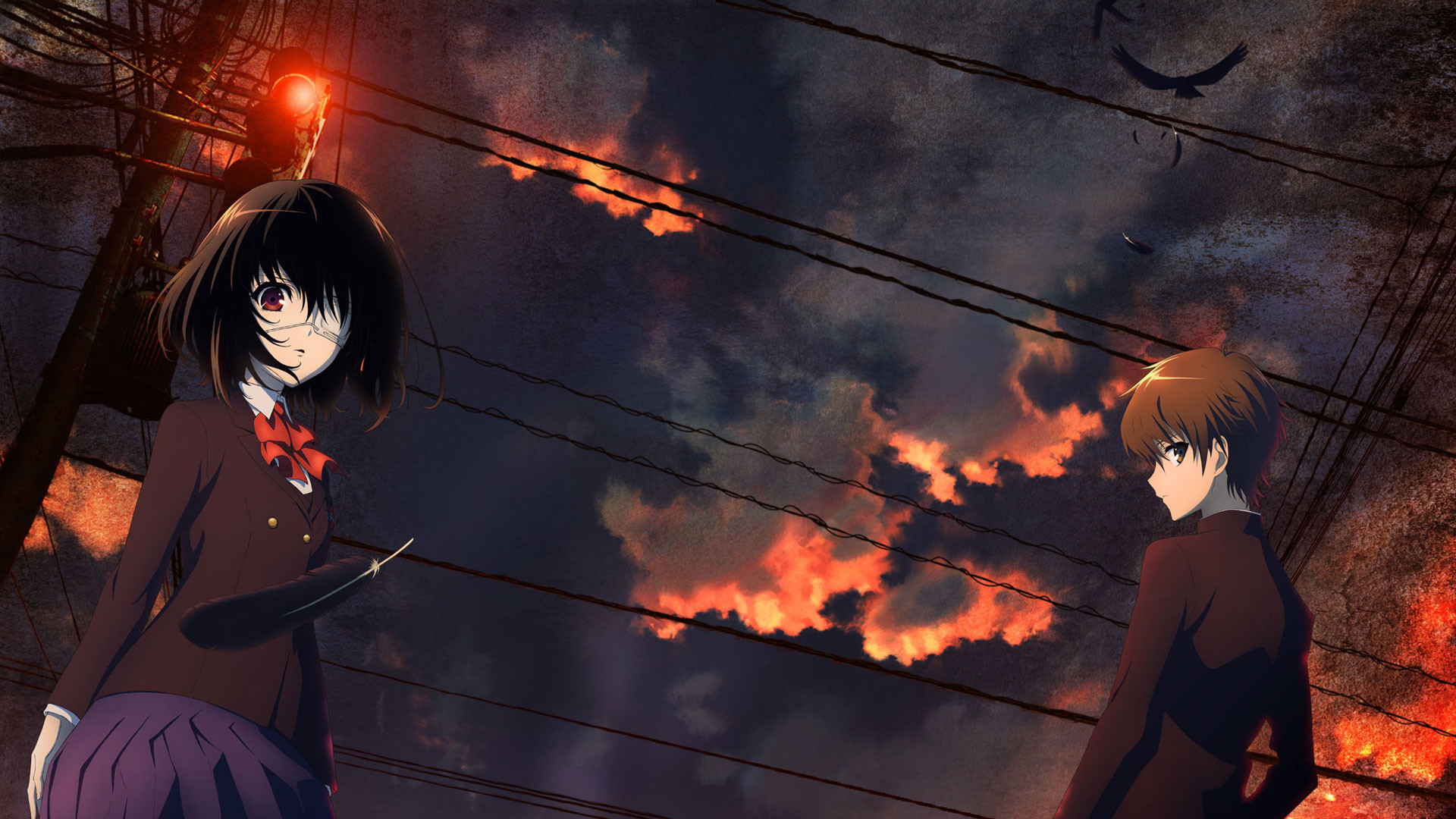 Anime wallpaper 1366x768 67 images - Another anime hd wallpaper ...