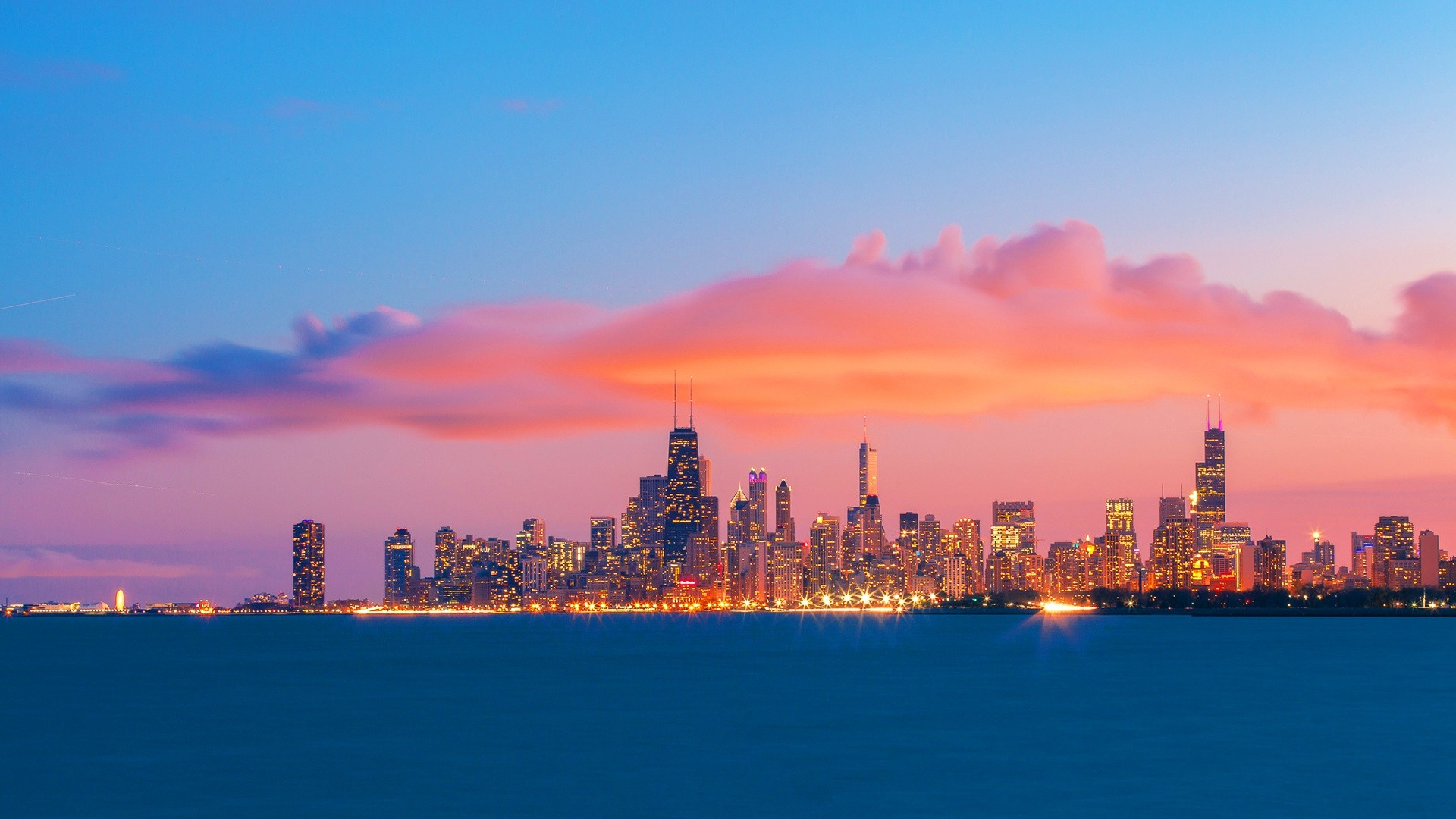 1920x1080 wallpaper.wiki-Chicago-Skyline-Background-HD-PIC-WPE009998