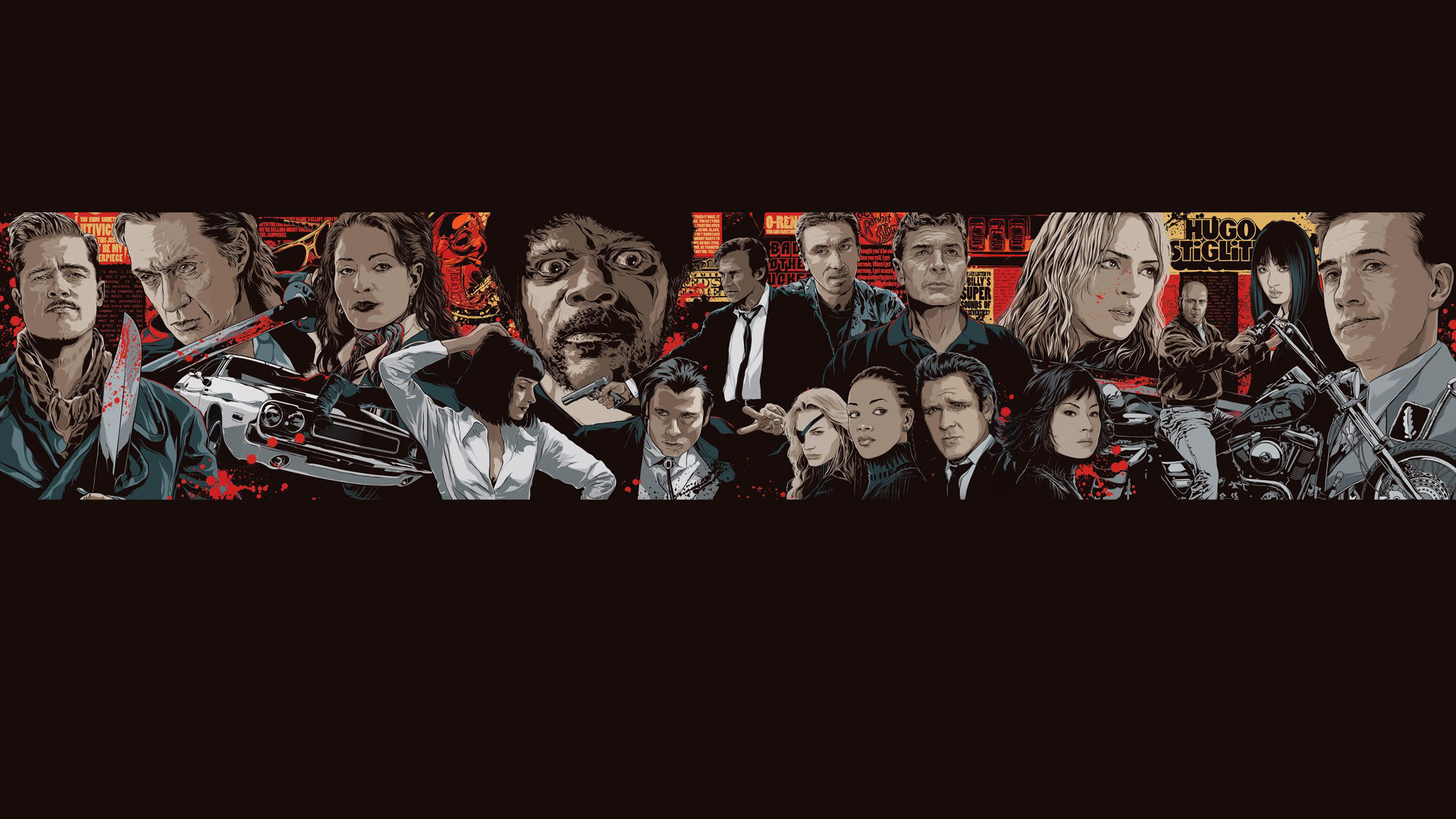 1920x1080 Pulp Fiction Movie Image source from this