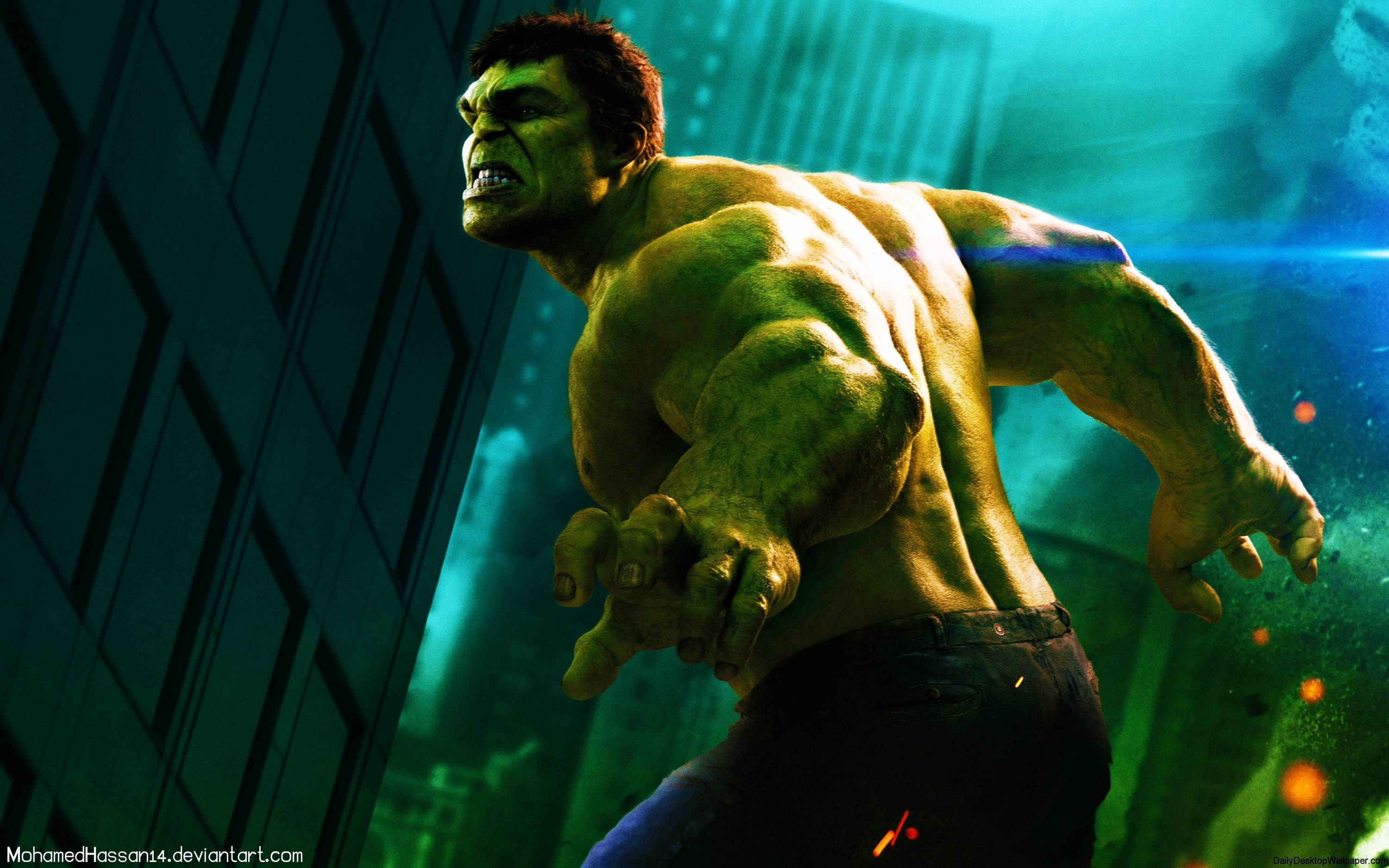 the hulk The incredible avenger, scientist bruce banner, transforms into the massive hero the hulk this walking gamma reactor of power is the perfect protection from enemy attacks.