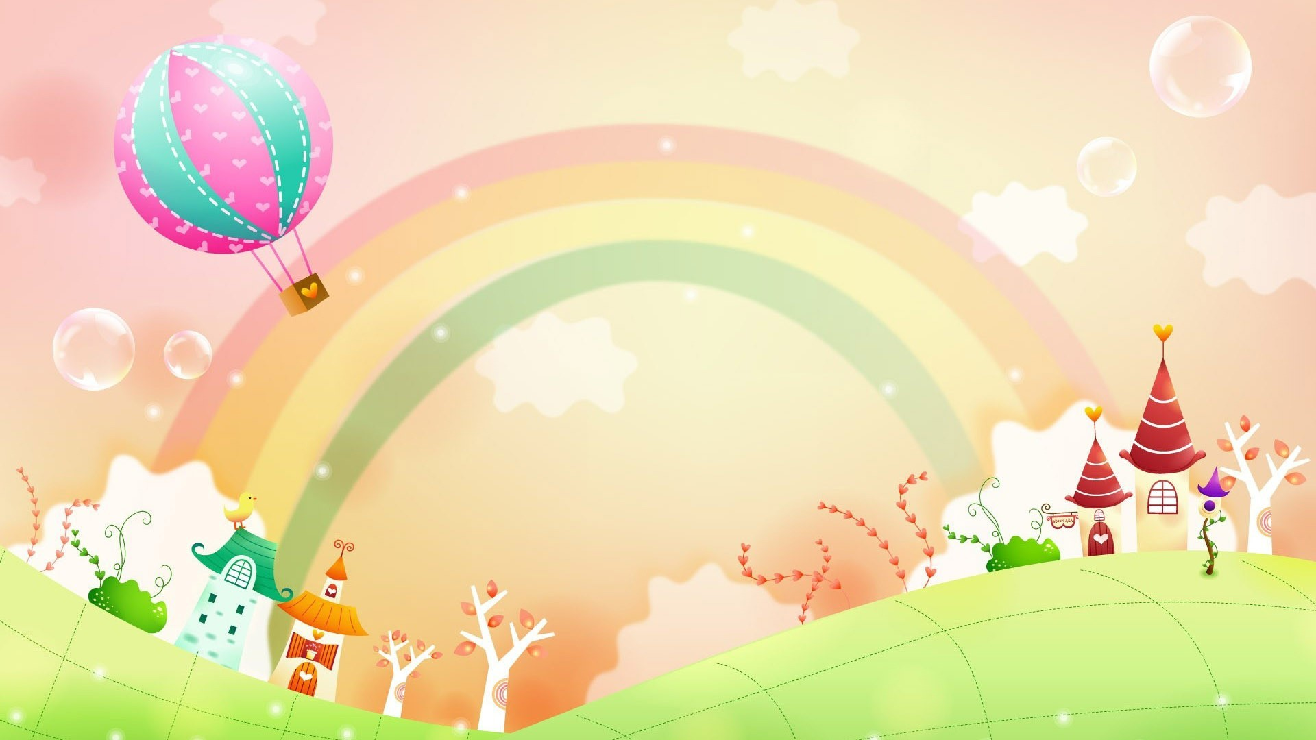 1920x1080 Rainbow Colors Wallpaper For Desktop with image resolution  pixel.  You can use this wallpaper