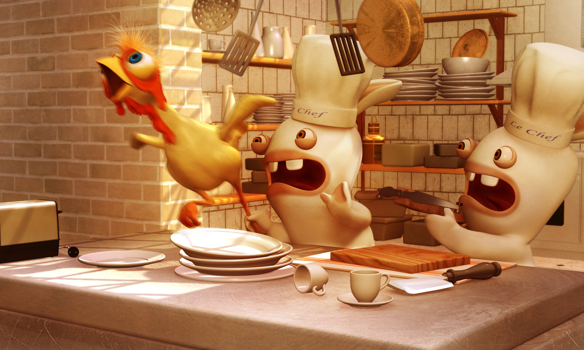 2048x1229 rabbids thanksgiving | 0001 01 01t00 00 00