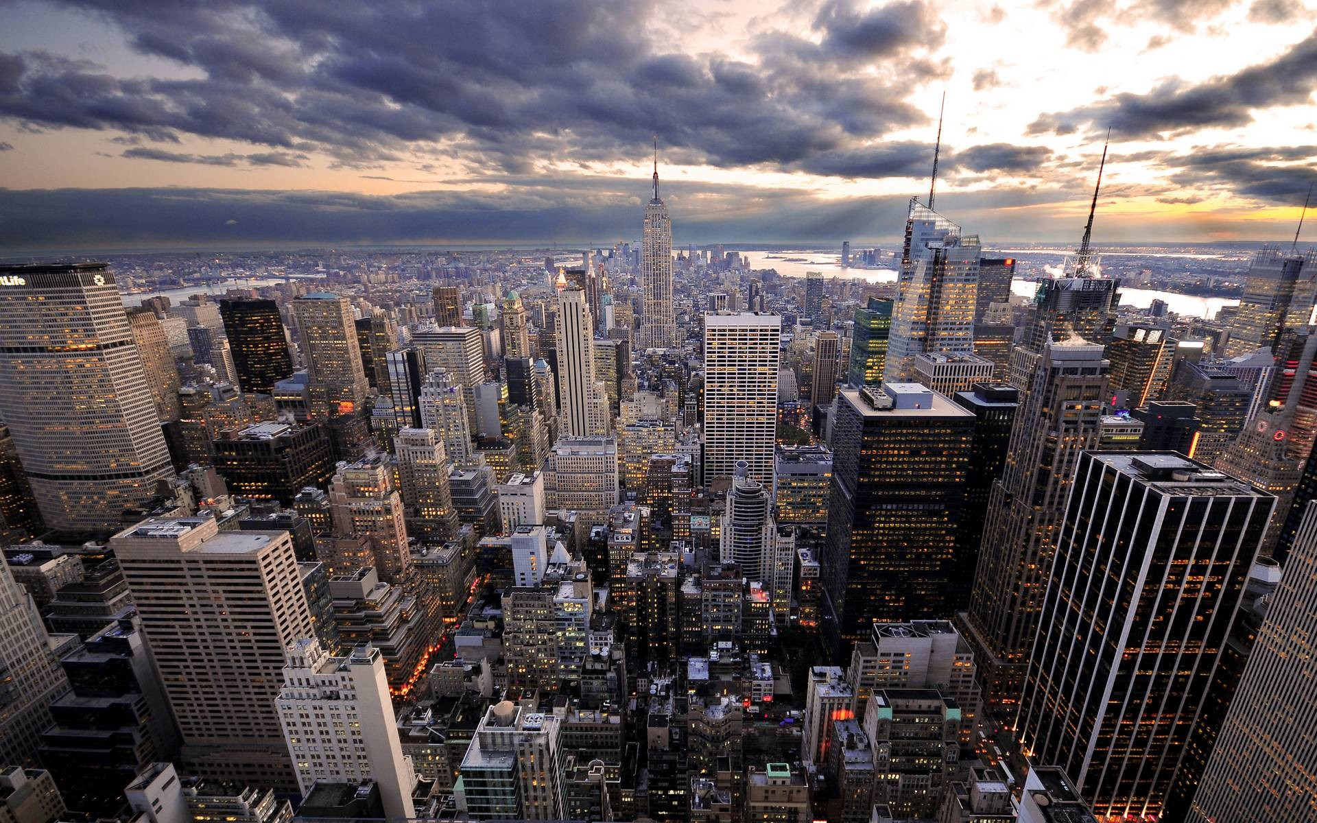 Ny Skyline Wallpapers 79 Images