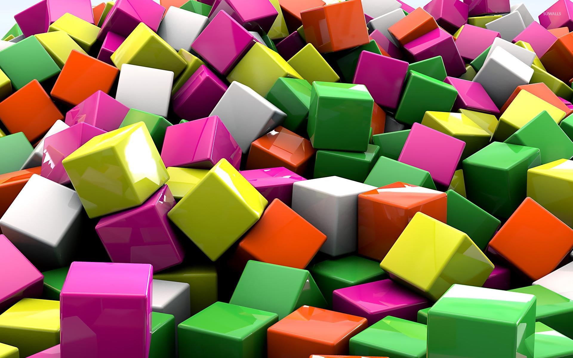 3d Cubes Wallpaper 80 Images