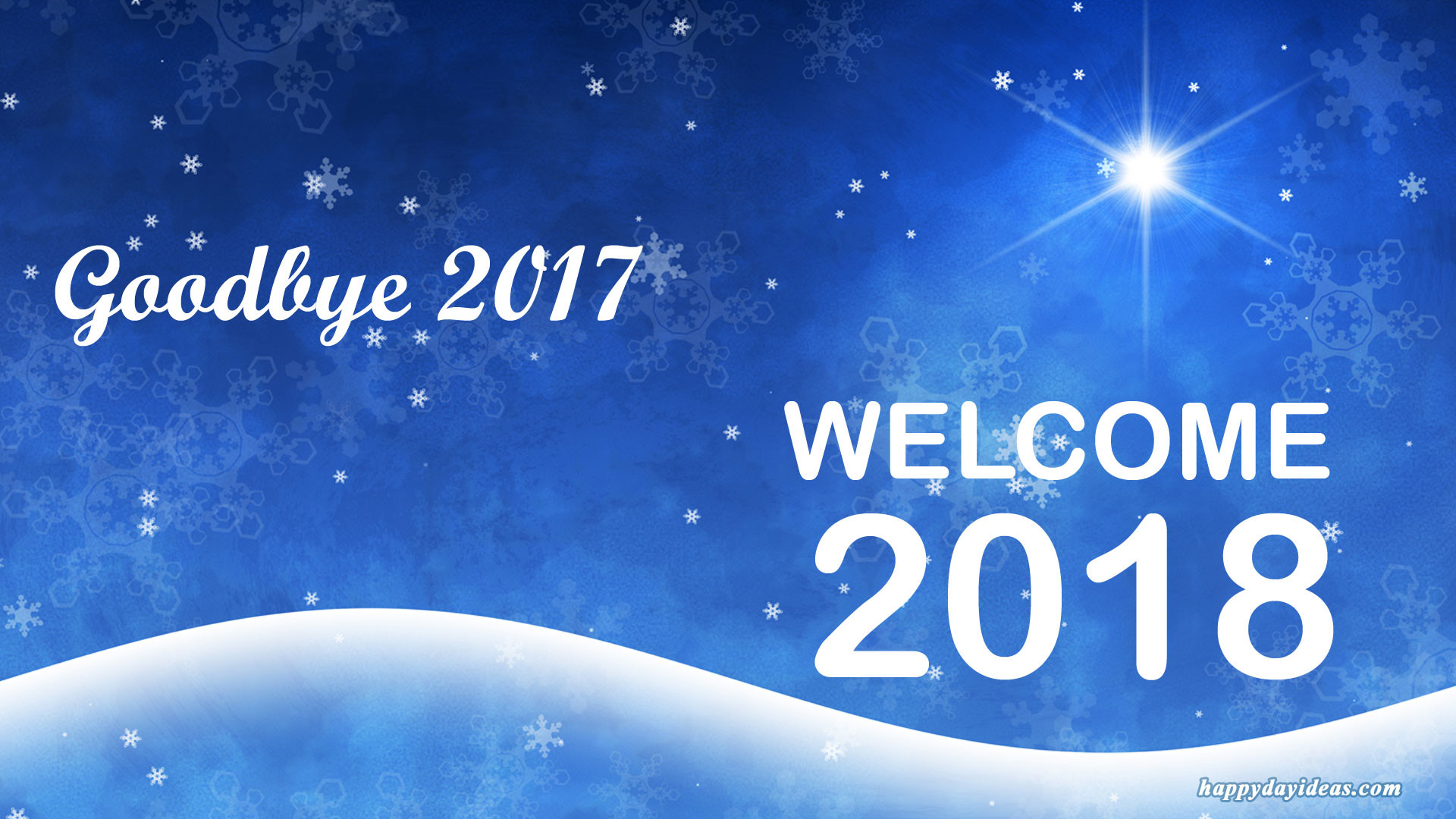 1920x1080 Goodbye 2016 Welcome 2017 Wallpaper Images Source · Goodbye 2017  Welcome 2018 Images Wallpaper