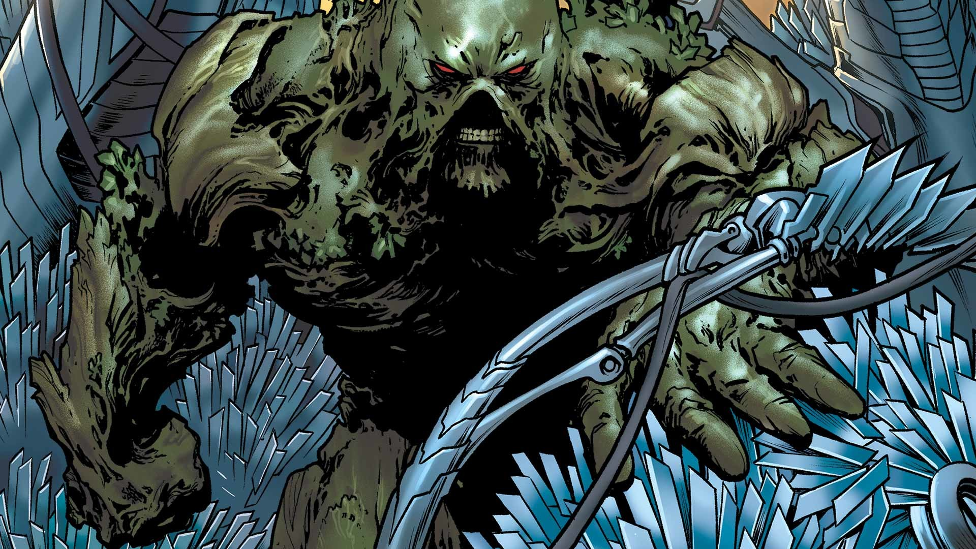 Swamp Thing Wallpaper 76 Images