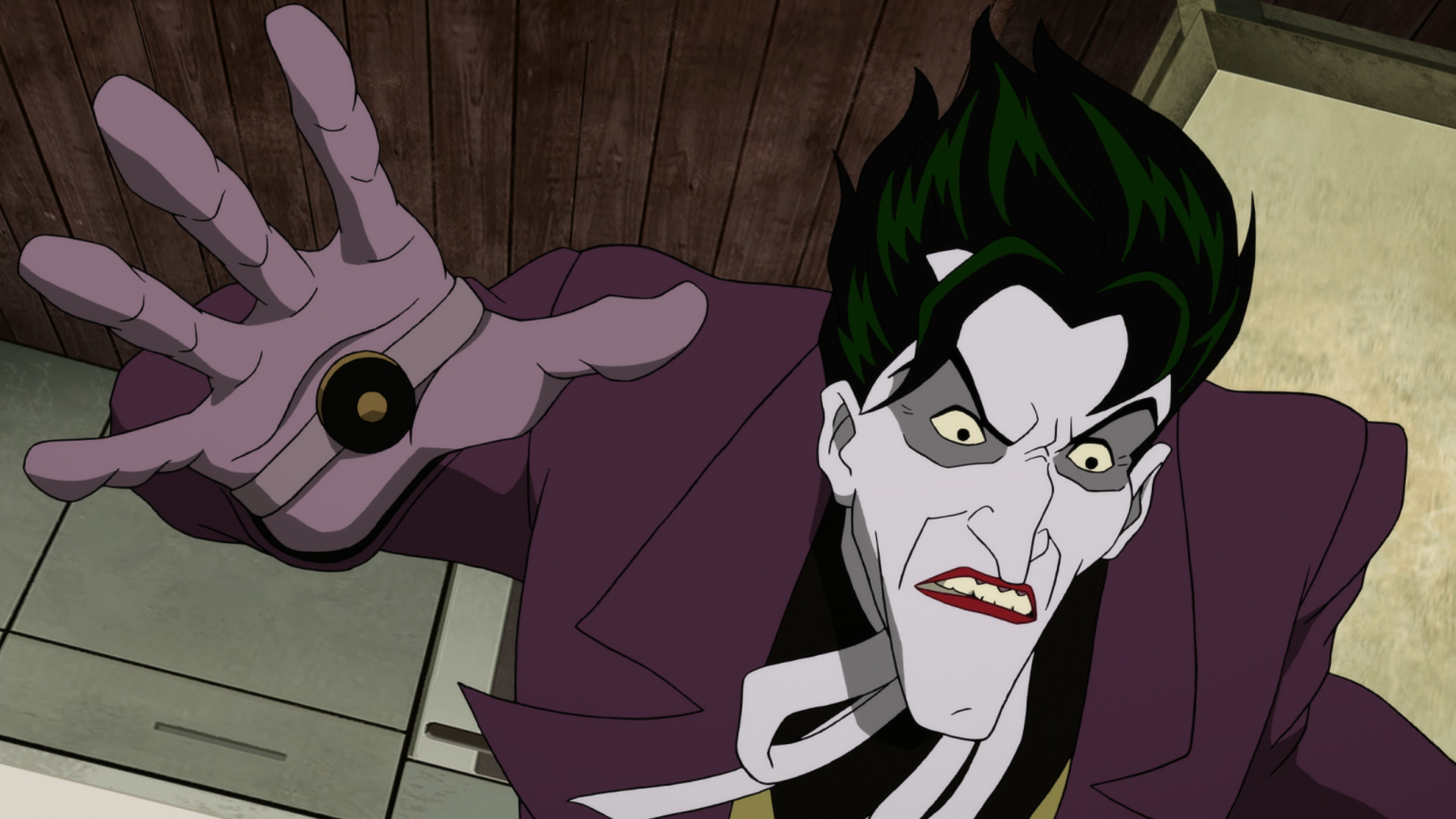 1920x1080 Based on the acclaimed graphic novel of the same name, Batman: The Killing  Joke takes a journey into the dark psyche of the Clown Prince of Crime –  from his ...