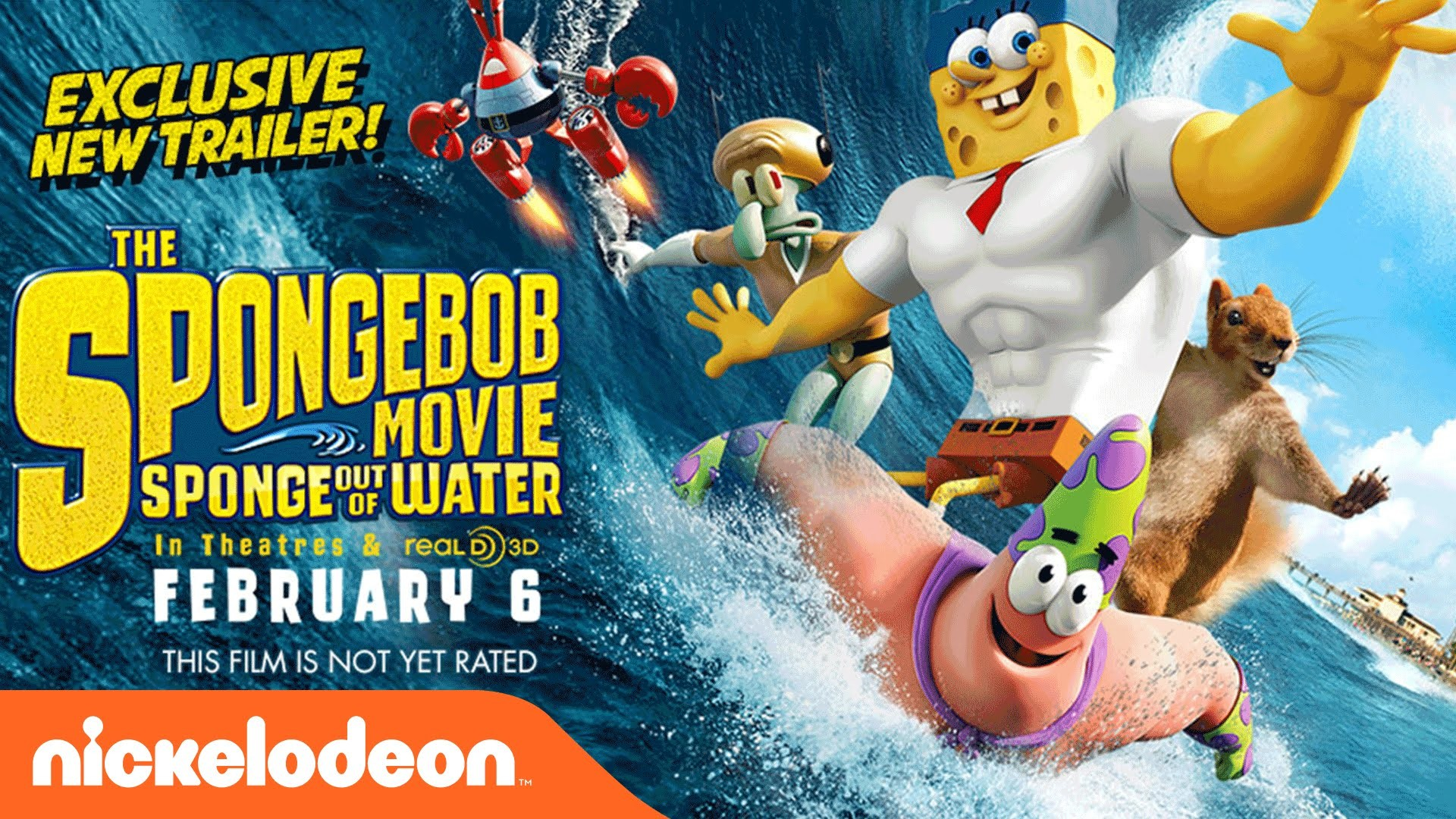 1920x1080 the spongebob movie sponge out of water wallpaper images background w zn