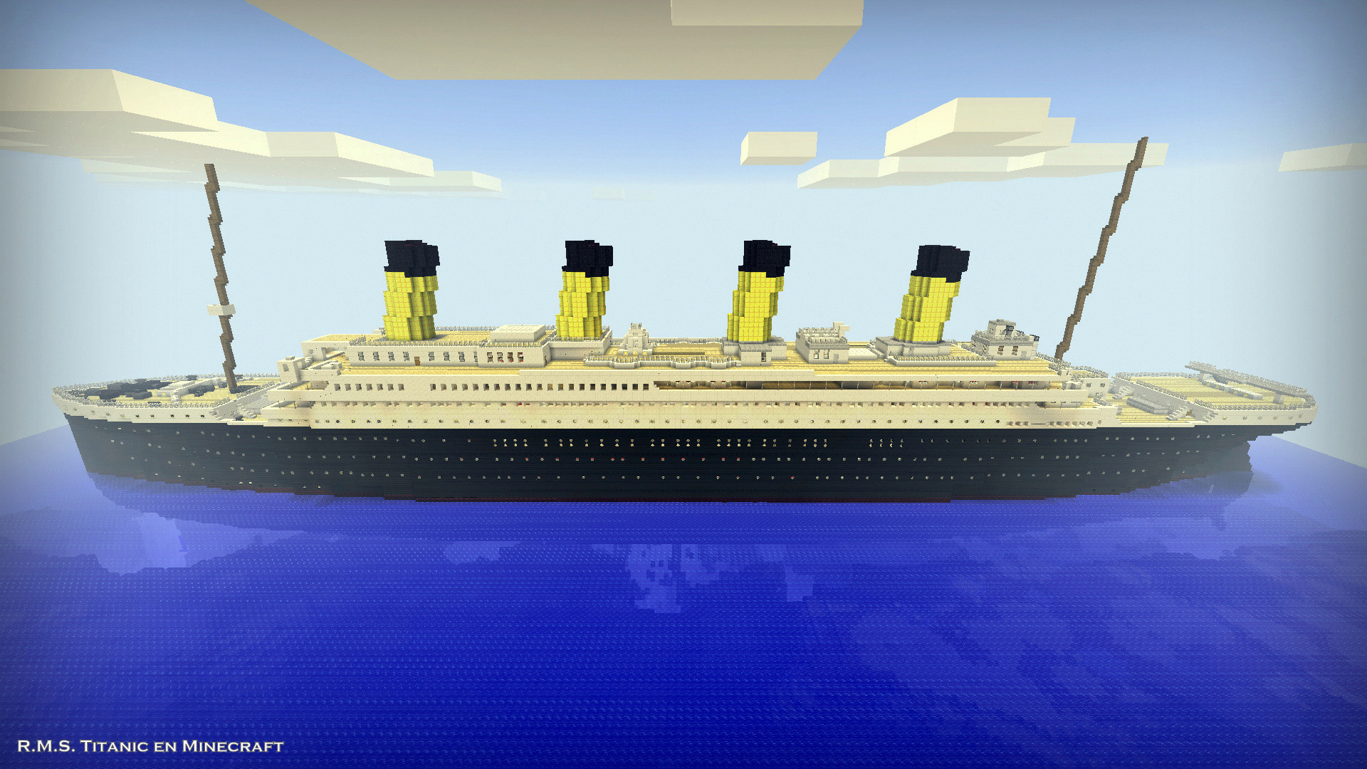1920x1080 R.M.S. Titanic in Minecraft: The Grand Staircase - The Dome (01/29/2015) -  Maps - Mapping and Modding: Java Edition - Minecraft Forum - Minecraft Forum