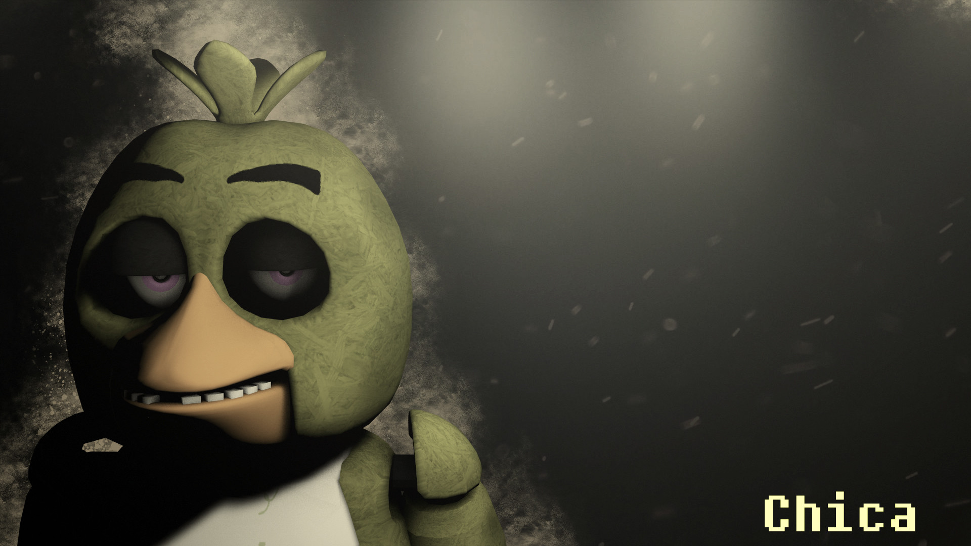 1920x1080 ... Five Nights at Freddy's Chica Wallpaper DOWNLOAD by NiksonYT