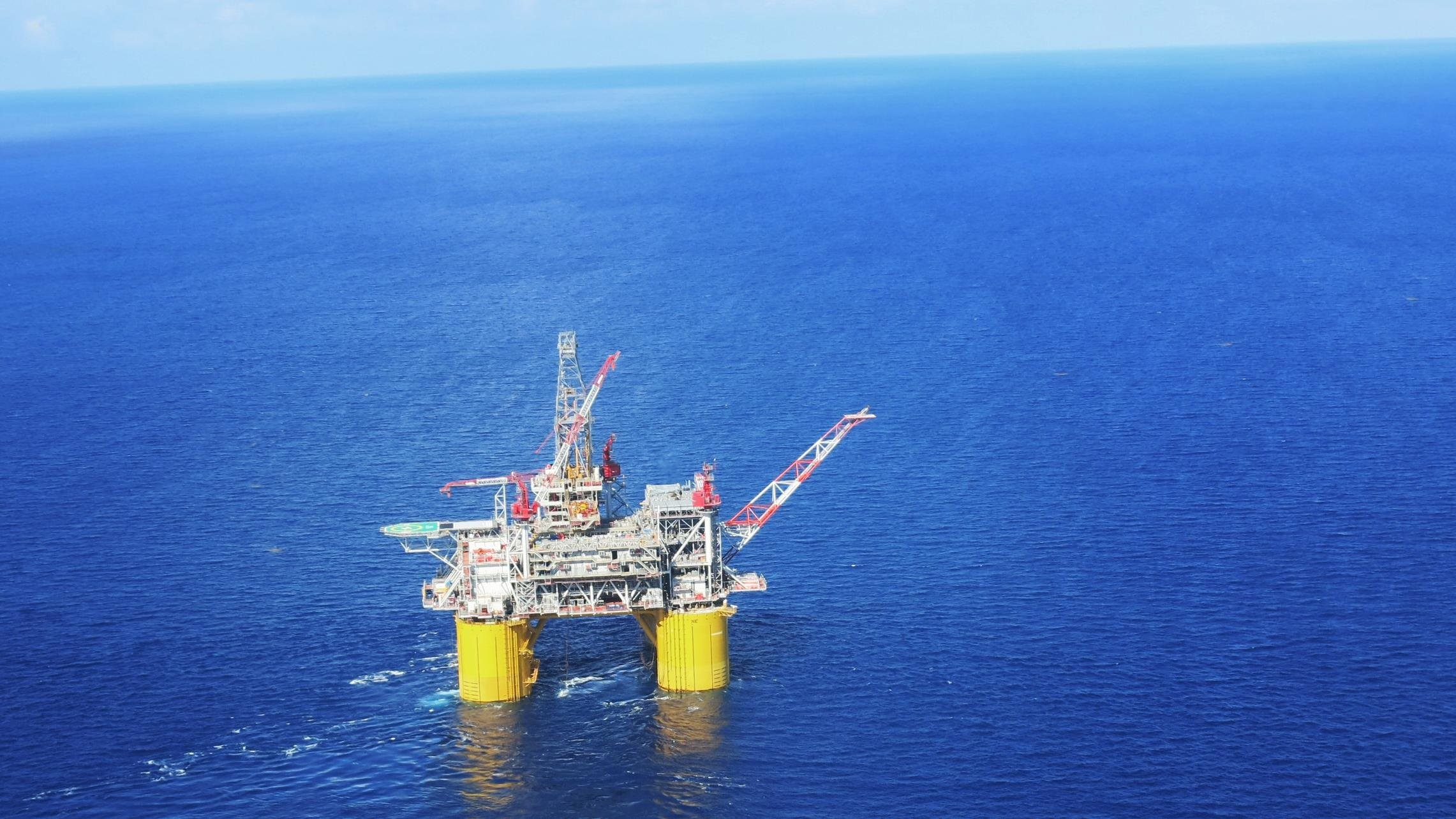 2282x1283 OIL GAS RIG platform ocean sea ship boat 1orig wallpaper |  |  847487 | WallpaperUP