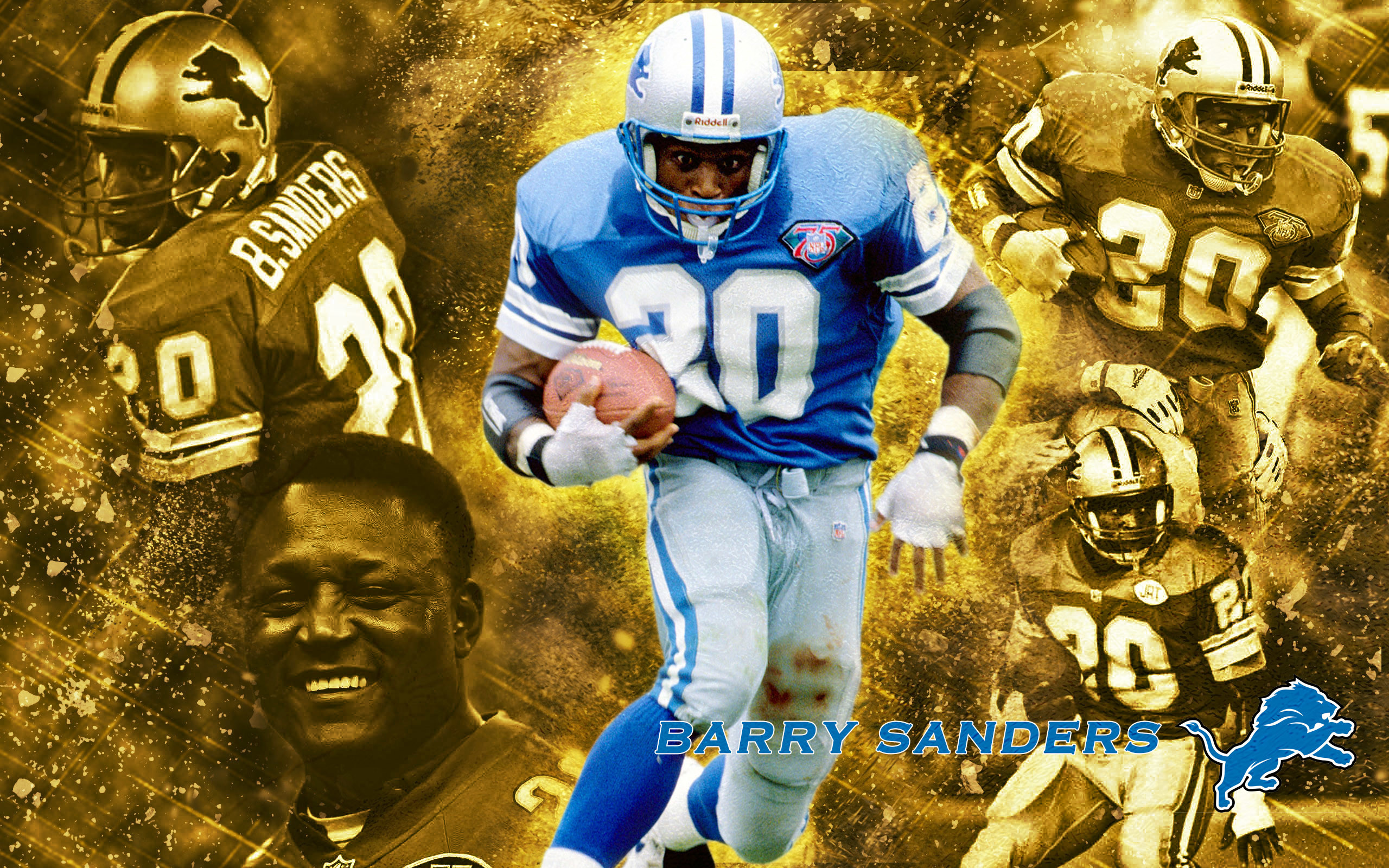 2560x1600 Barry Sanders Gold Series AA Gallery