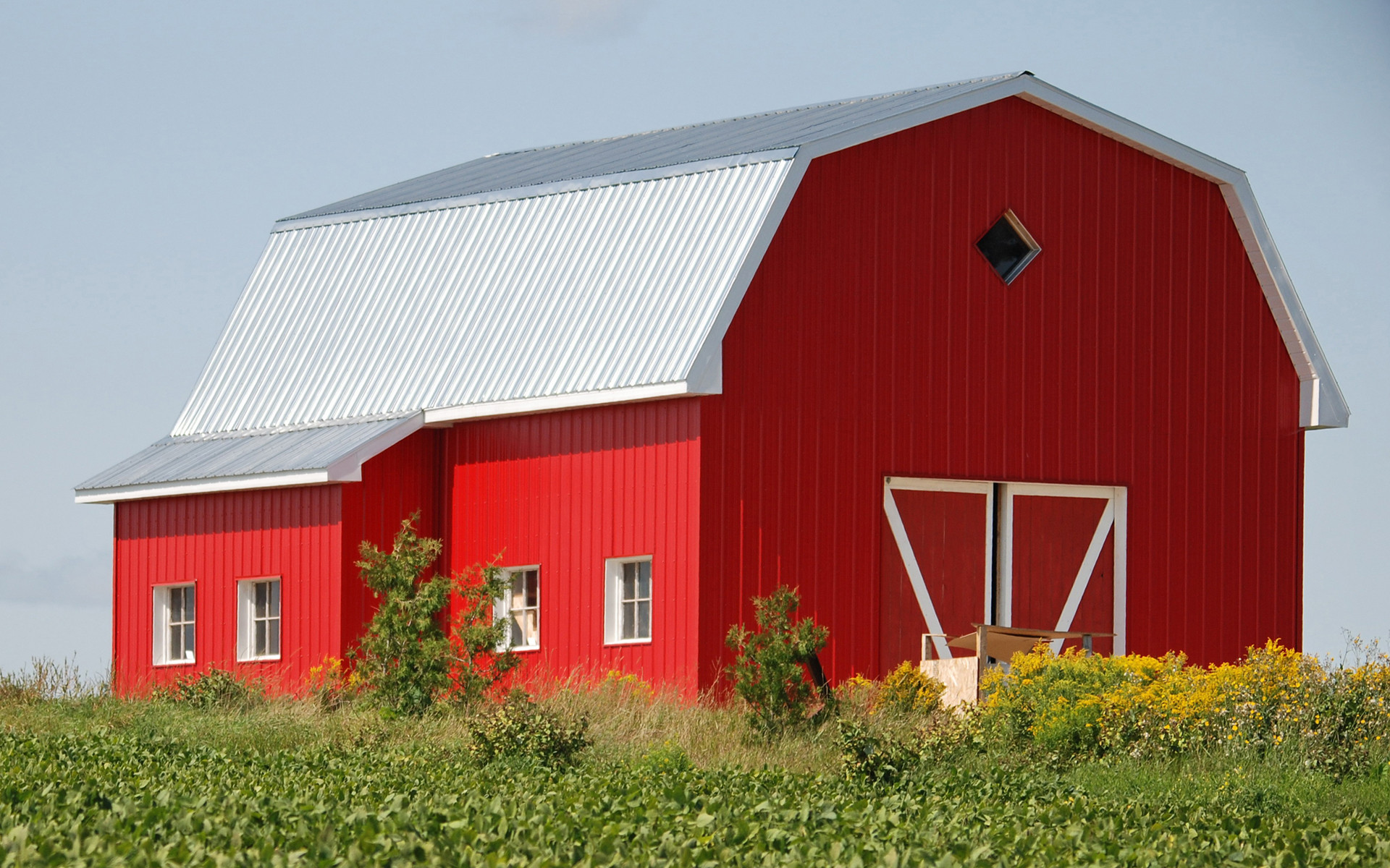 1920x1200 Moril-the red barn