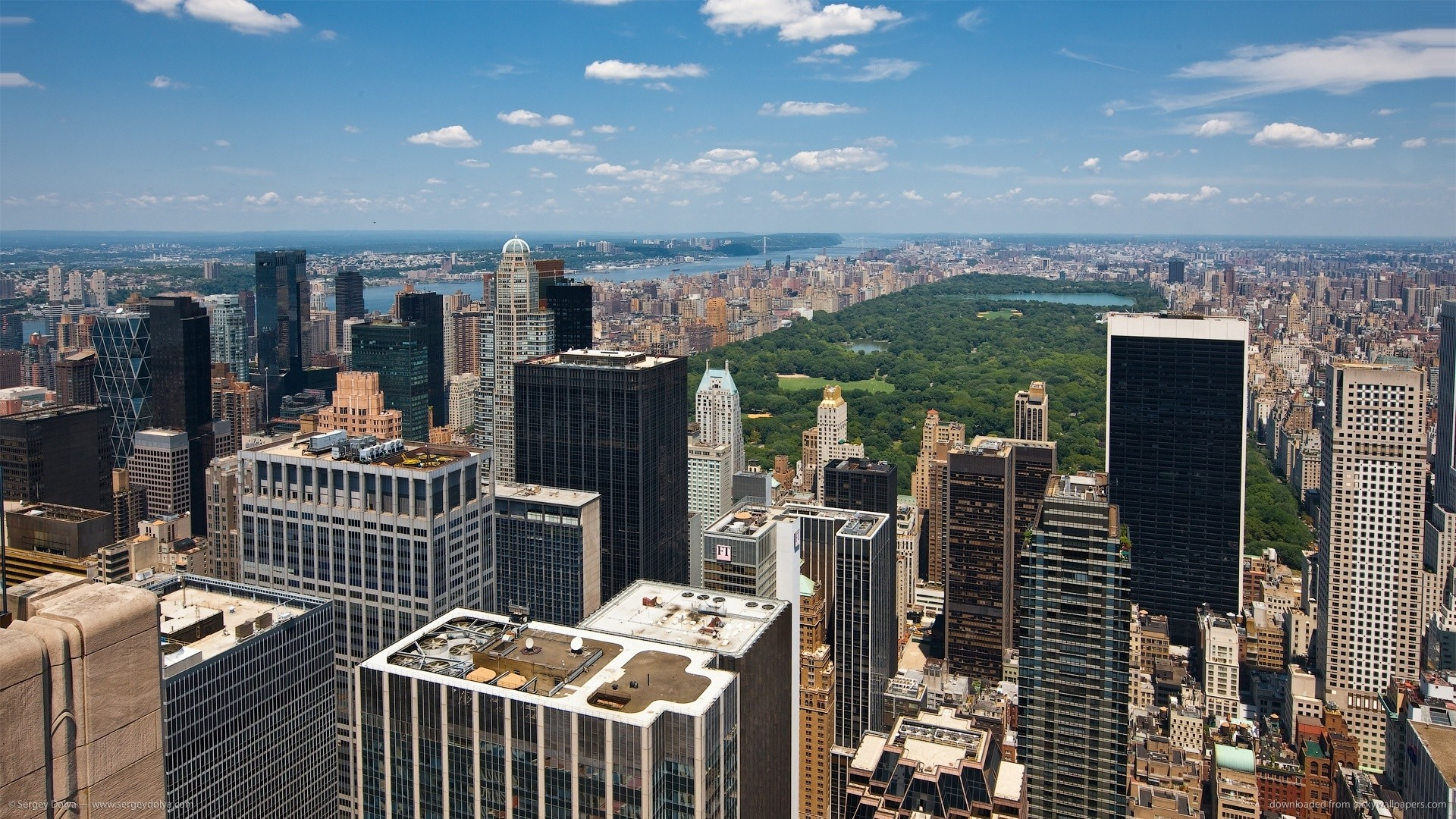 1920x1080 Stunning New York View on Central park picture