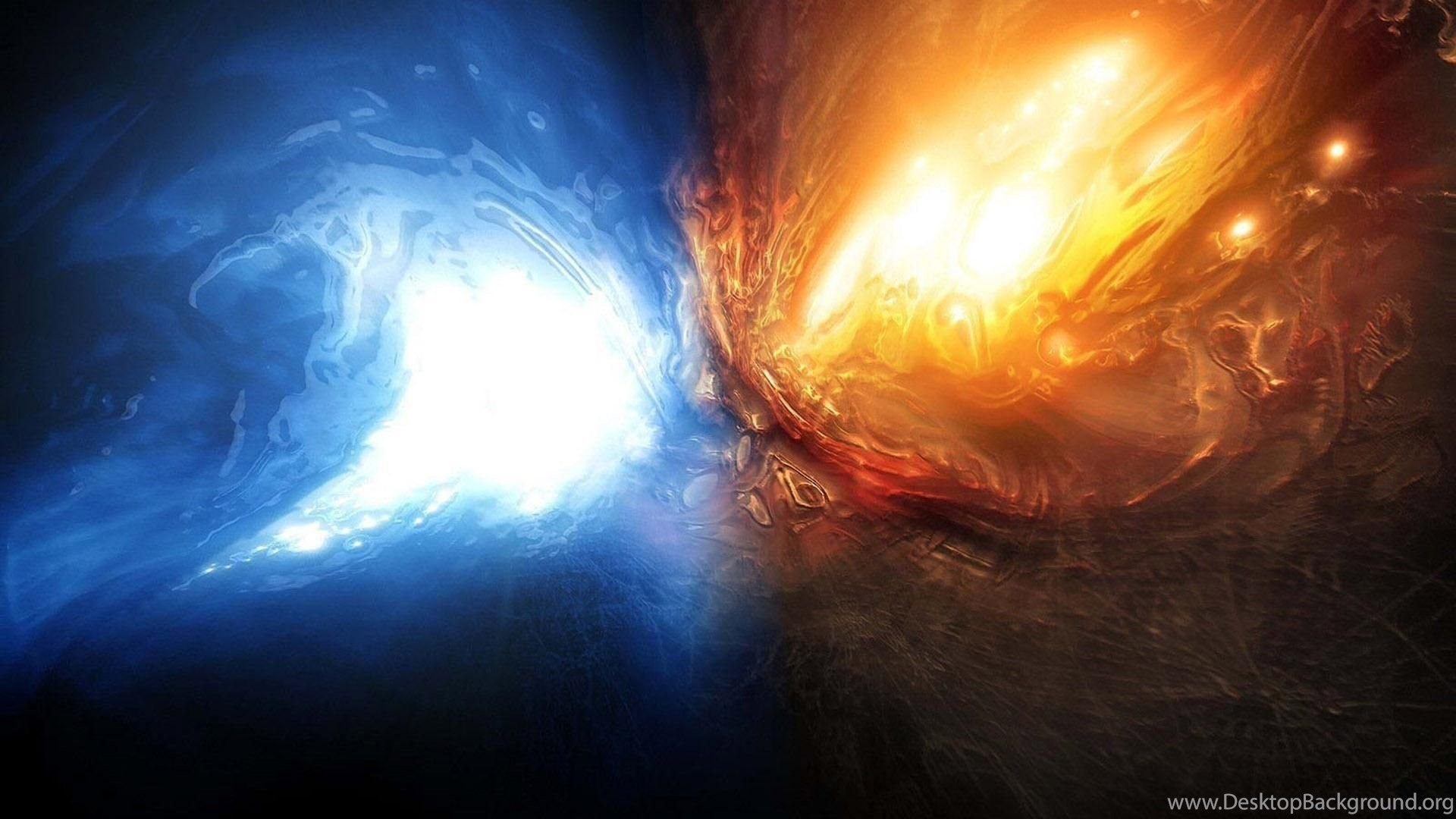 Cool Fire and Water Wallpaper (71+ images)