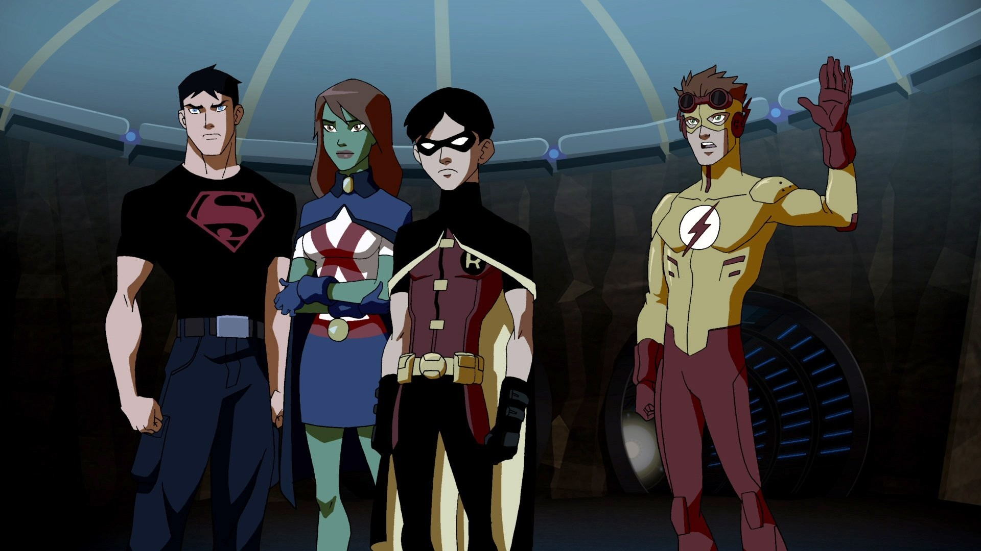 1920x1080 Custom HDQ Young Justice ...