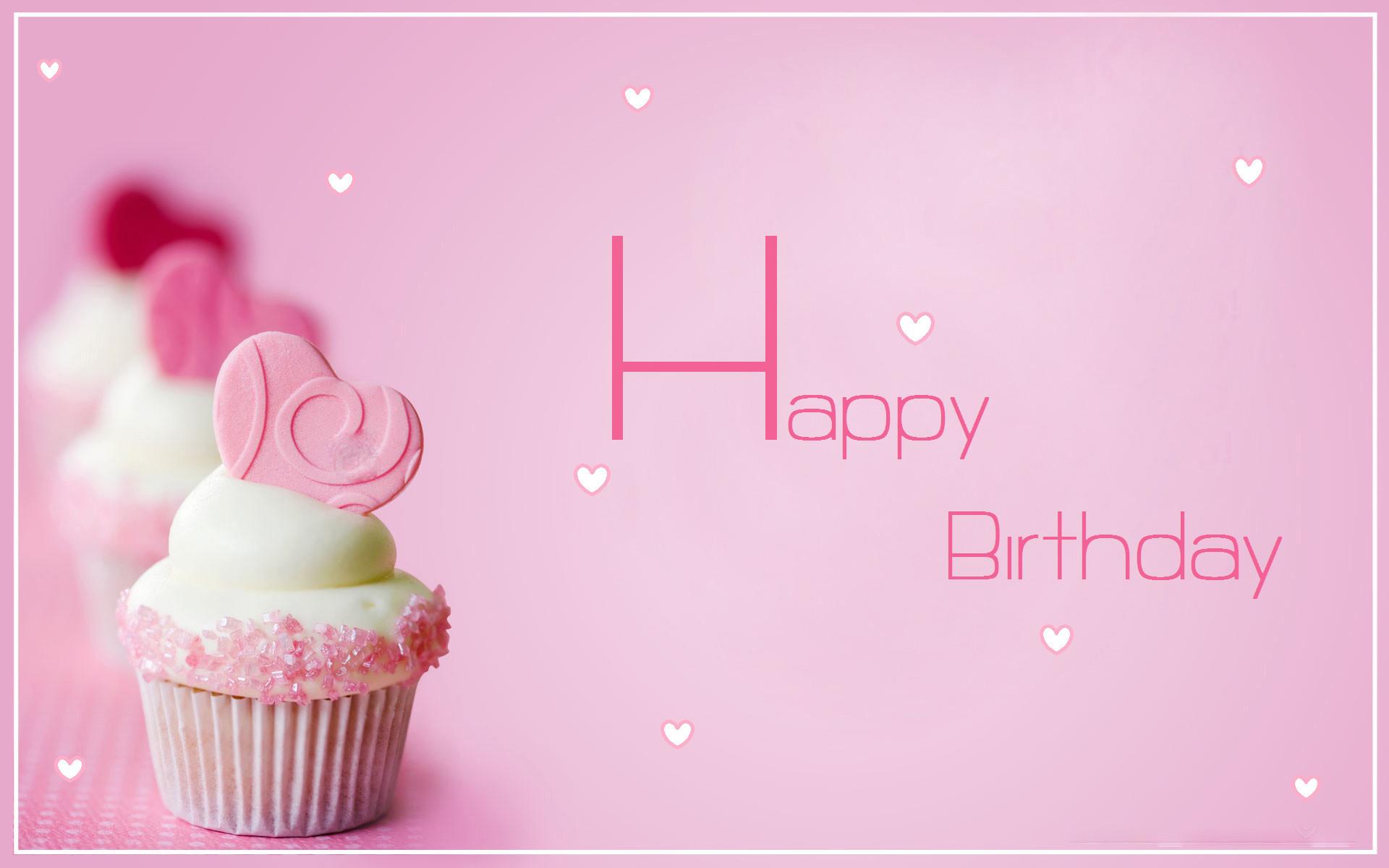 1920x1200 Cute Birthday Cupcake AA Cupcakes Wallpaper