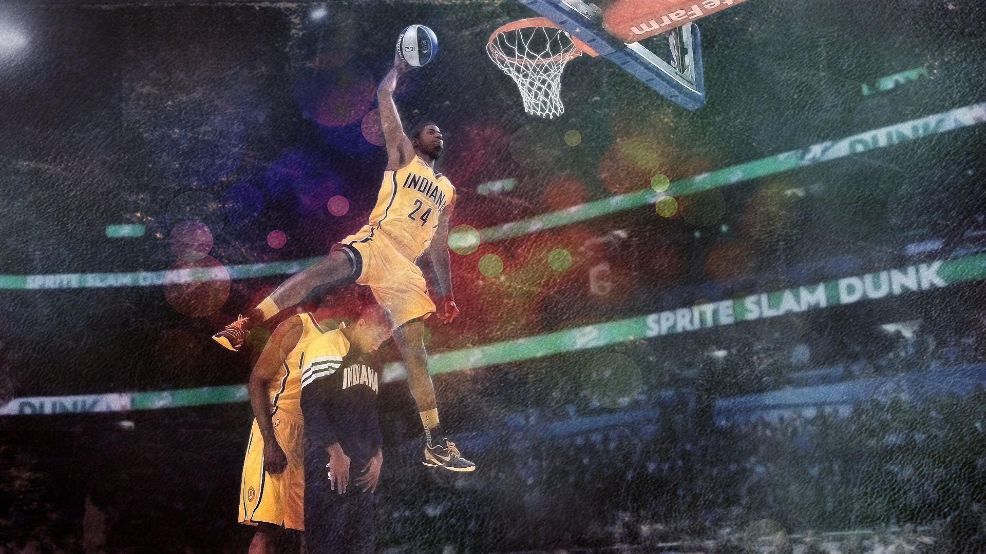 2560x1600 Paul George 2014 Slam Dunk 2560×1600 Wallpaper