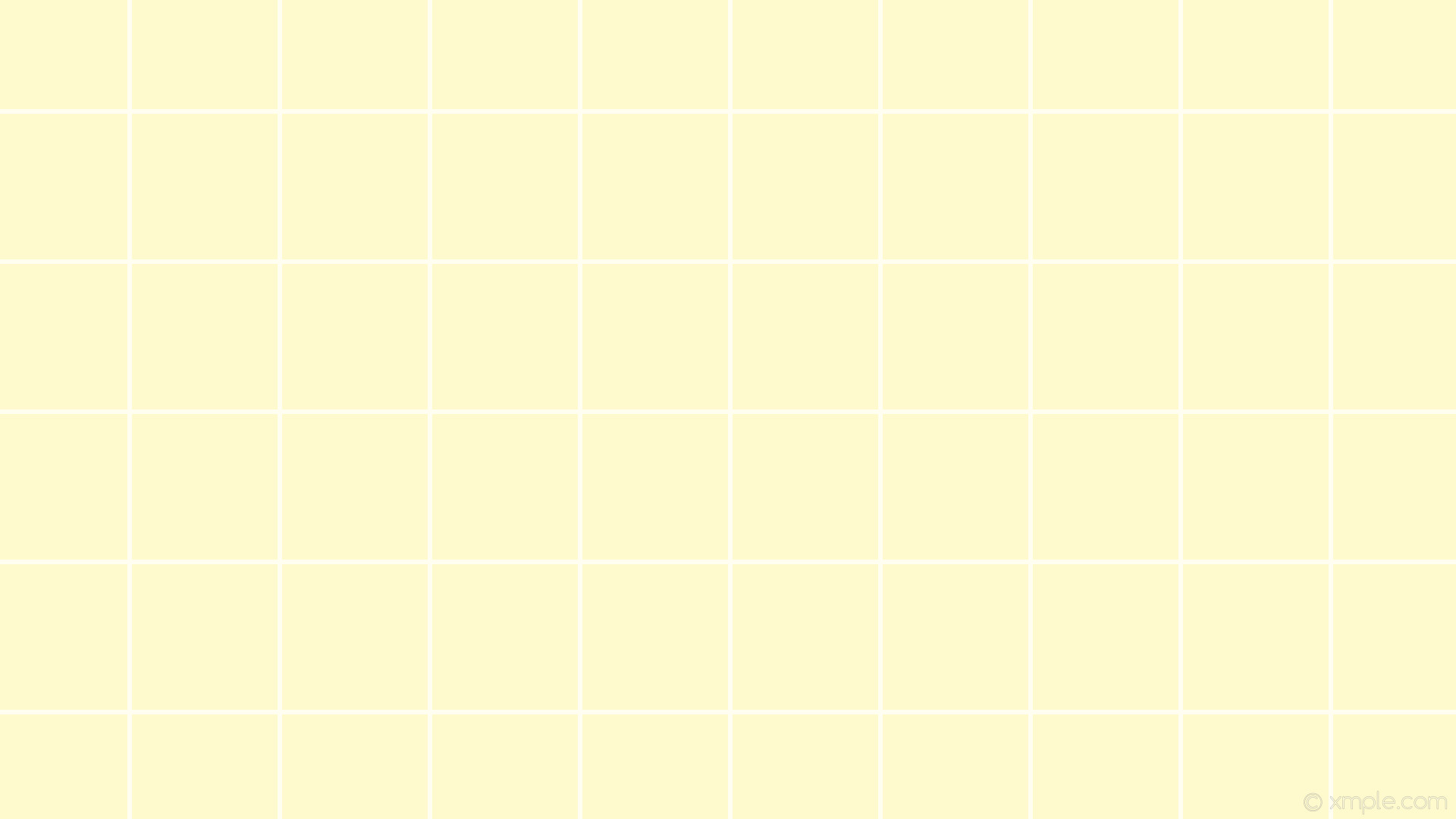 1920x1080 wallpaper graph paper yellow white grid lemon chiffon #fffacd #ffffff 0°  6px 198px