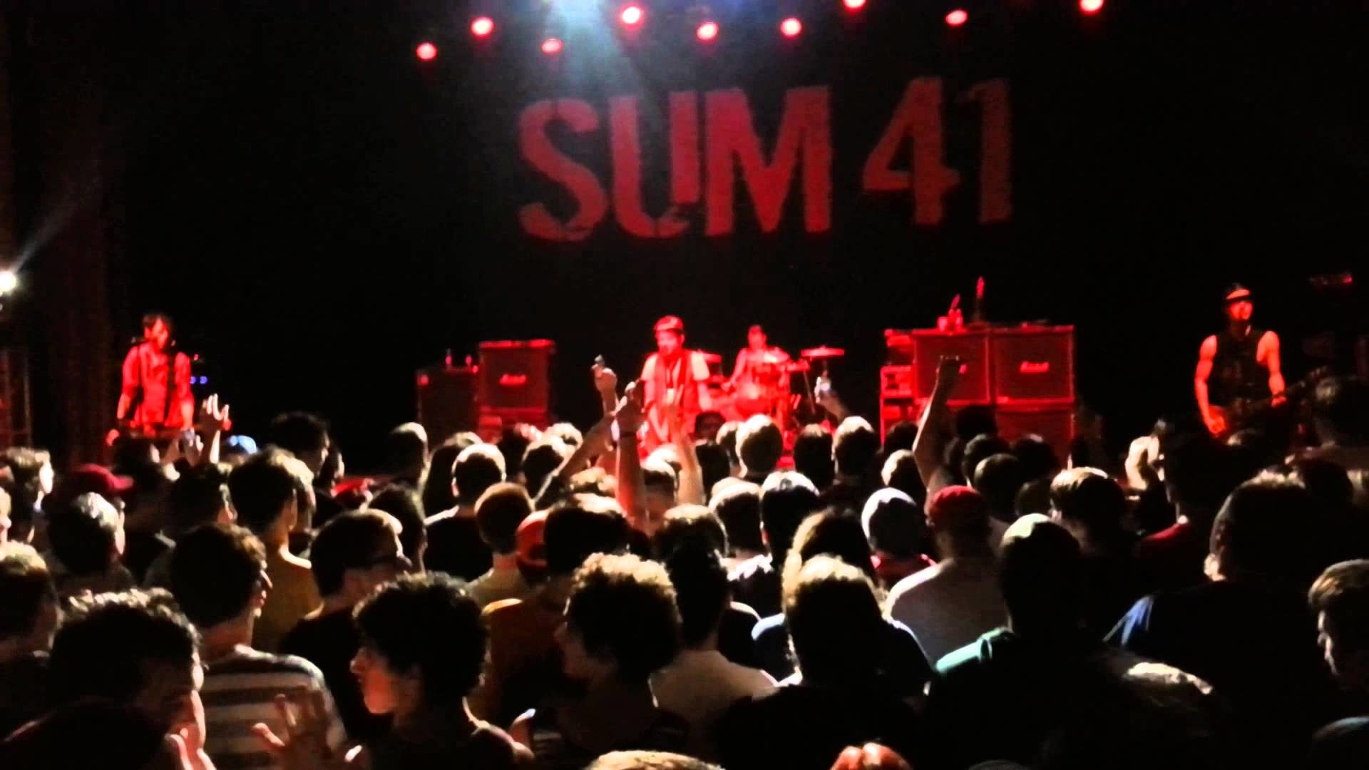1920x1080 Sum 41 (Live): Pieces - YouTube