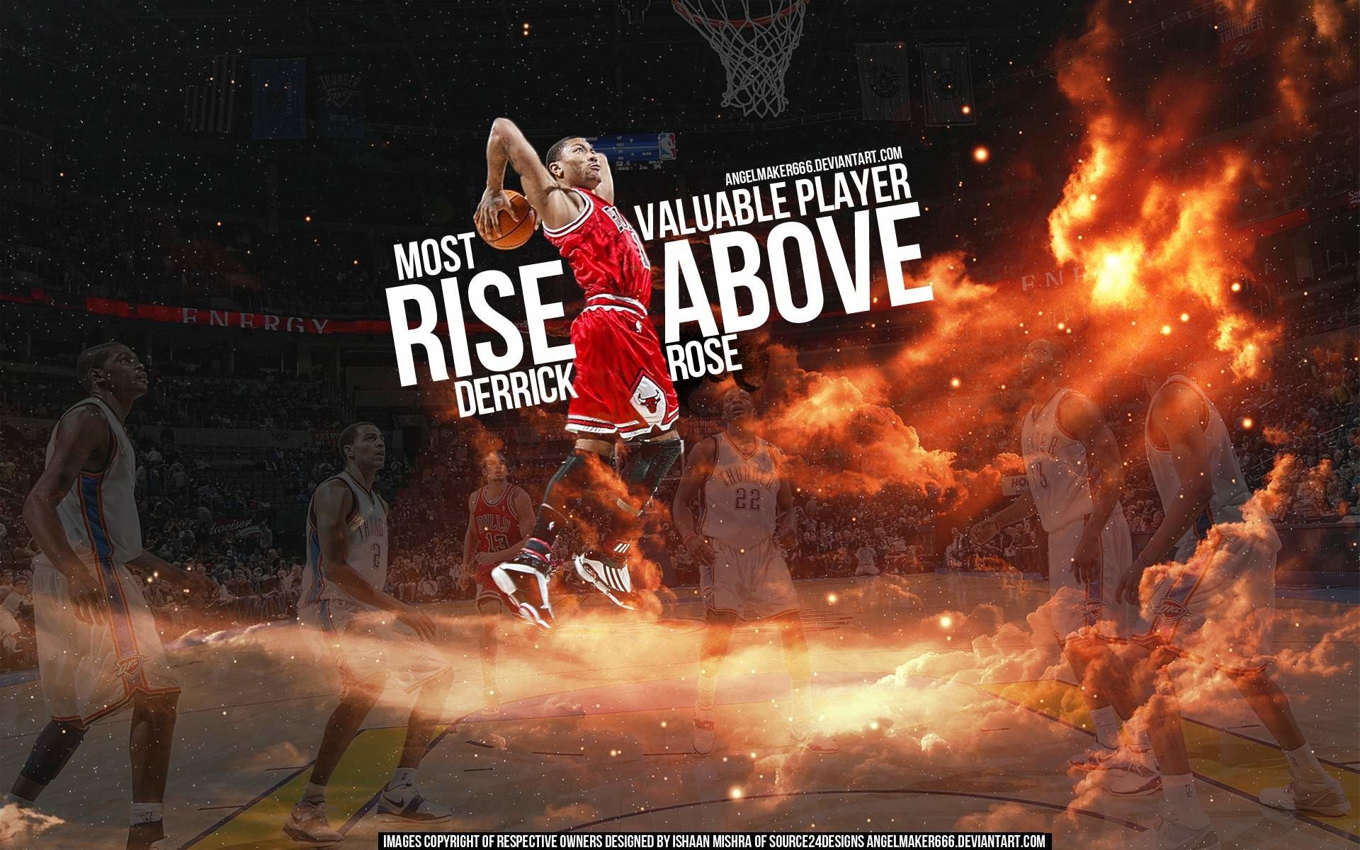 1920x1200  Derrick Rose Chicago Bulls Picture Wallpaper #04933 - ARASPOT.com