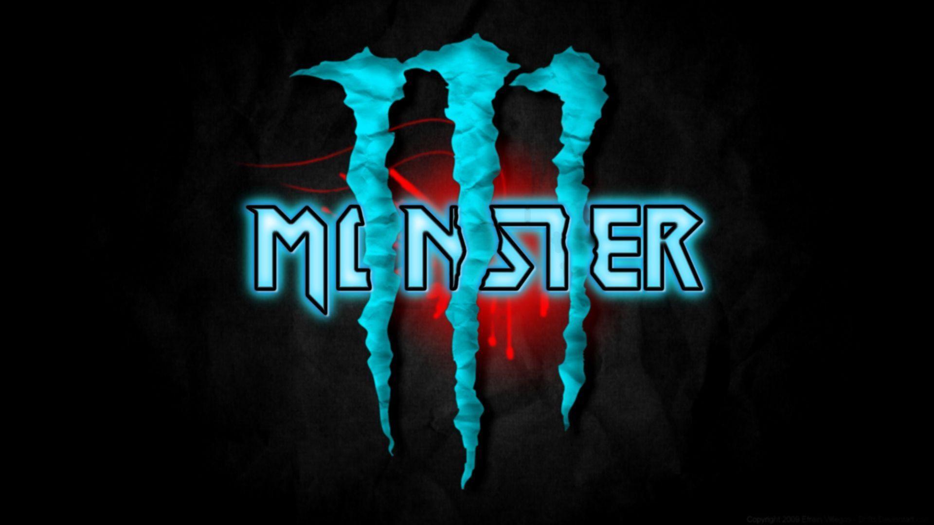 Blue Monster Energy Logo Wallpaper 63 Images