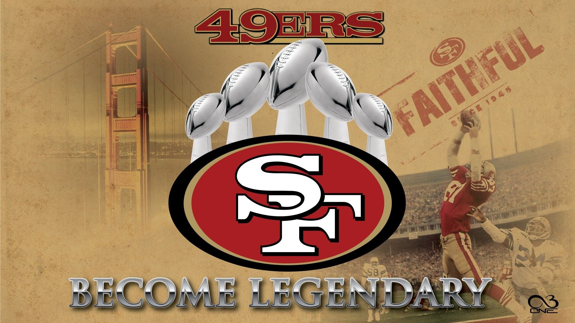 1920x1080 49ers logo | 49ERS San Francisco Logo HD Wallpaper 49ERS San Francisco Logo