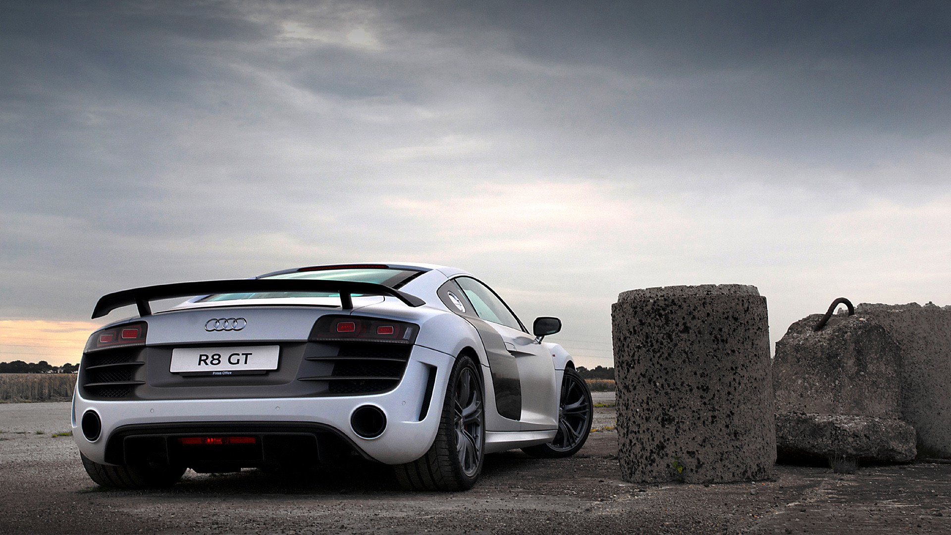 Cars Audi Roads R8 White V10 Wallpaper Allwallpaper In: Audi R8 Wallpaper 1920x1080 (85+ Images