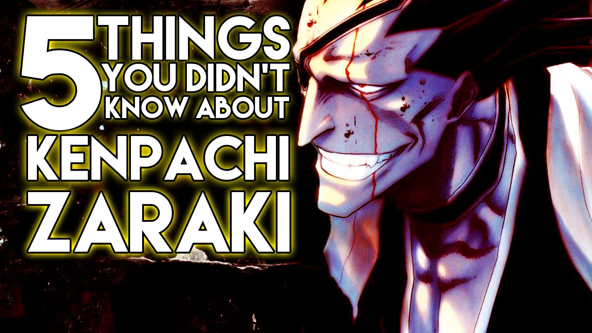 1920x1080 5 Things You Probably Didn't Know About Kenpachi Zaraki (5 Facts) | Bleach  | The Week Of 5's #1 - YouTube