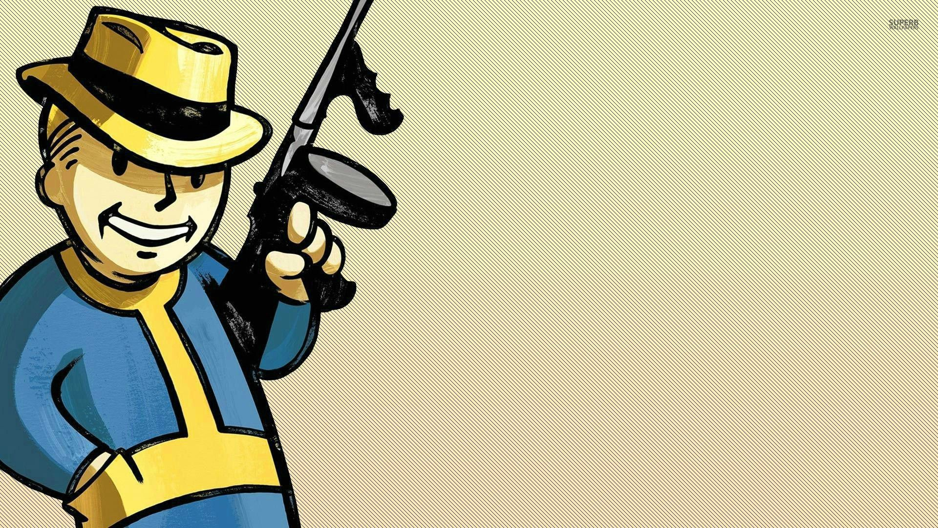 1920x1080 Vault Boy - Fallout wallpaper - Game wallpapers - #