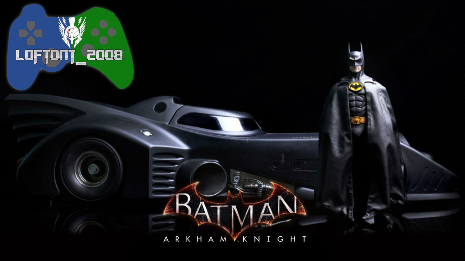1920x1080 Batman: Arkham Knight The Series - 1989 Batmobile Nostalgia!!!