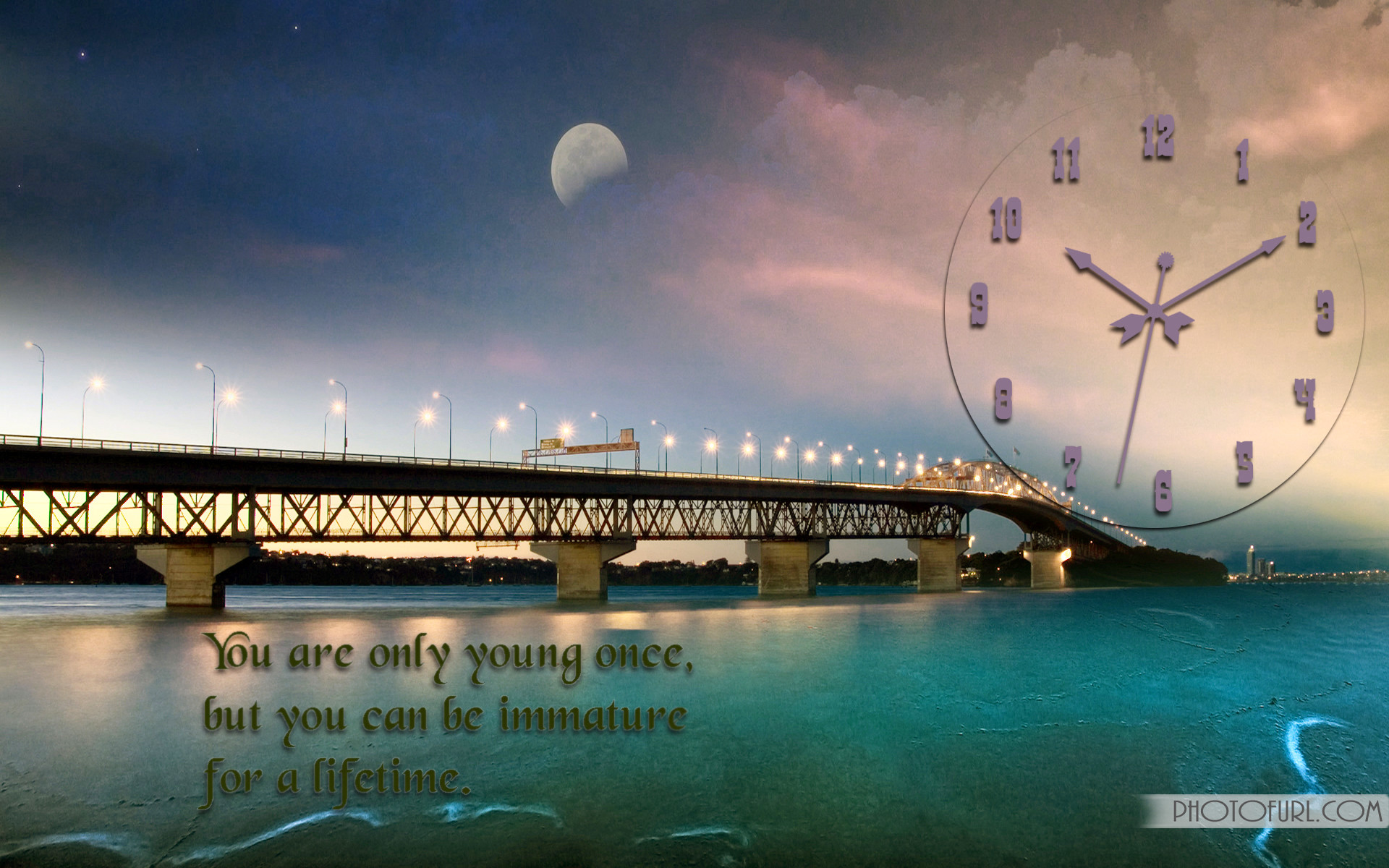 1920x1200 Beautiful Clock