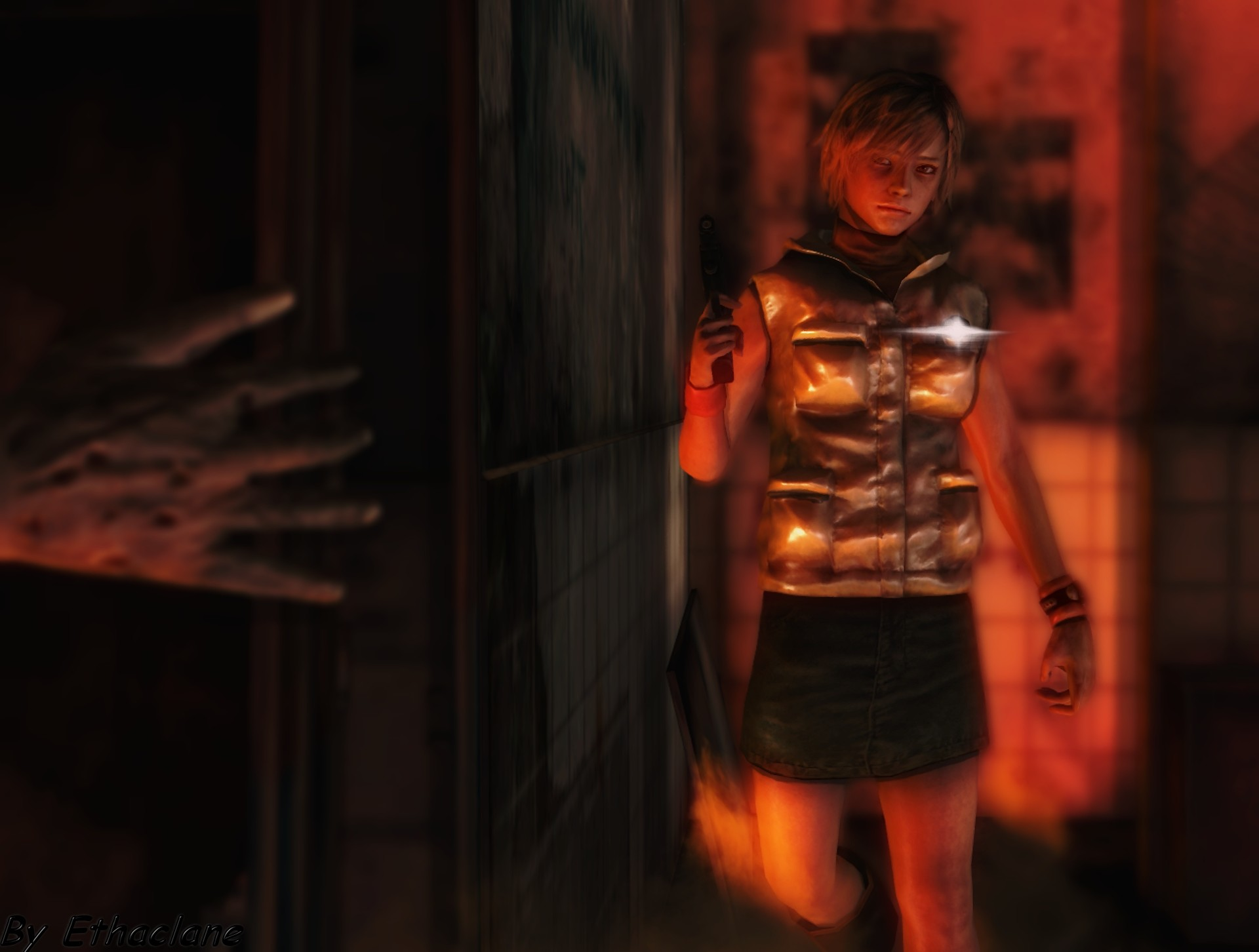 1920x1452 ... Silent hill wallpaper - Heather by ethaclane