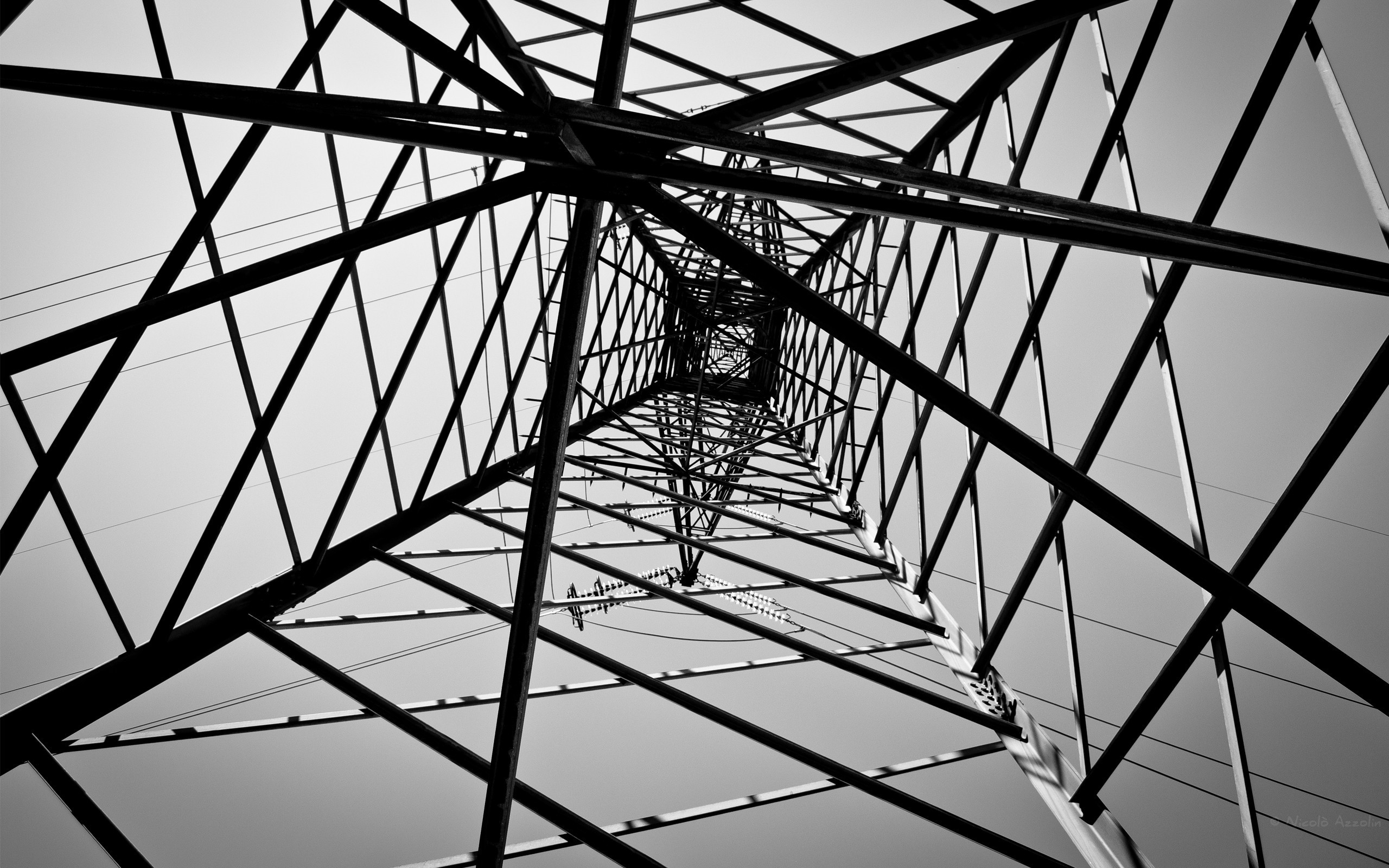 2560x1600 Image: Electricity Pole Perspective wallpapers and stock photos. Â«