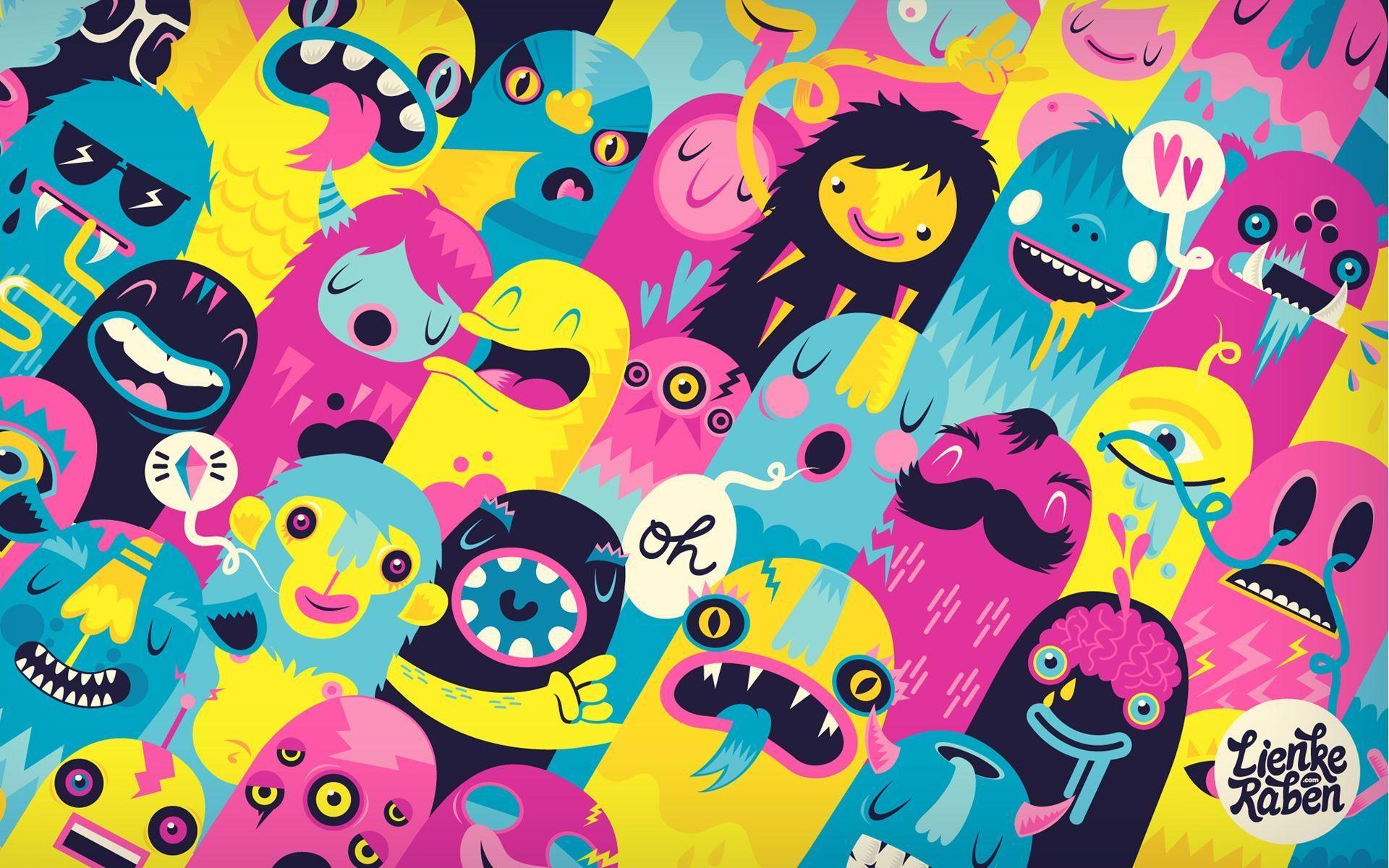 Cute Monster Wallpaper 66 Images