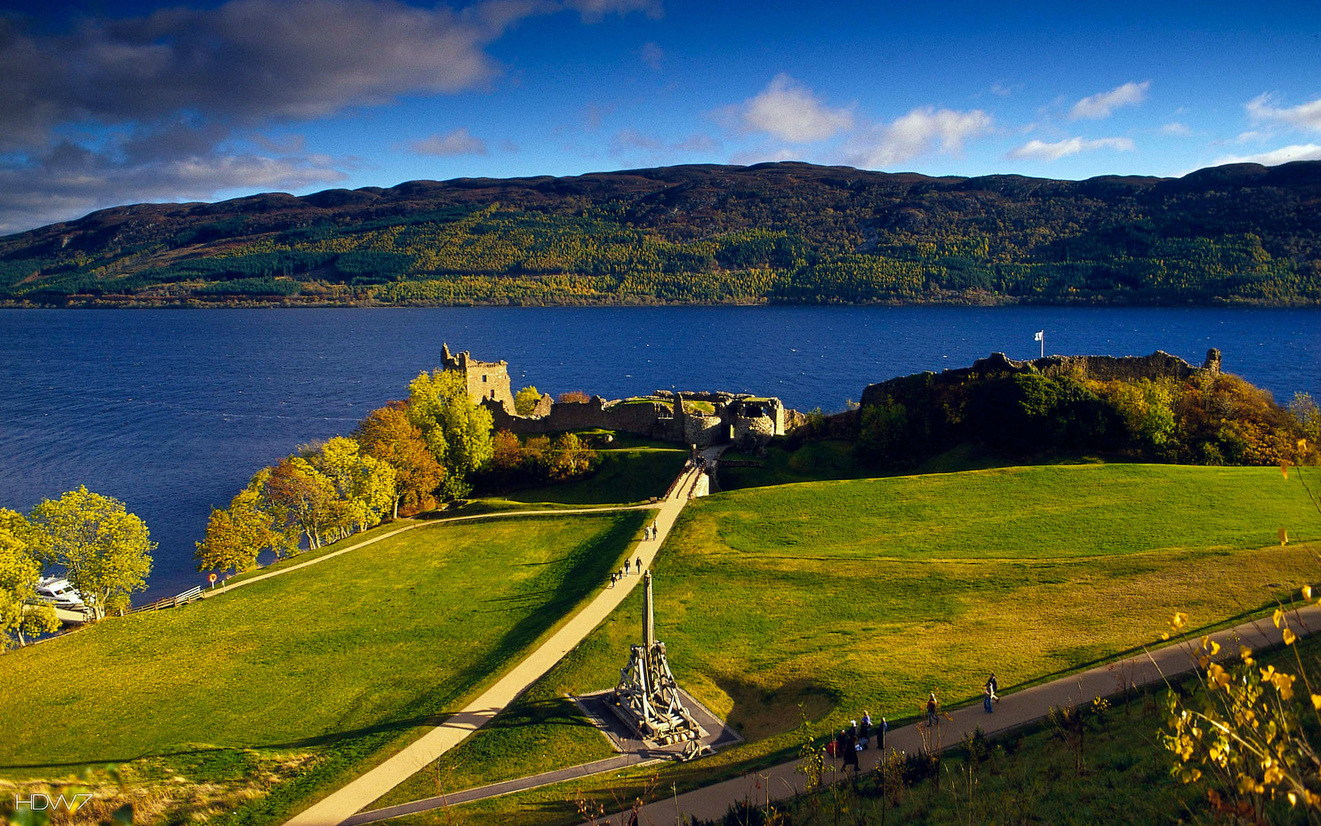 1920x1200 ... Loch Ness Monster Wallpapers - Wallpaper Cave ...