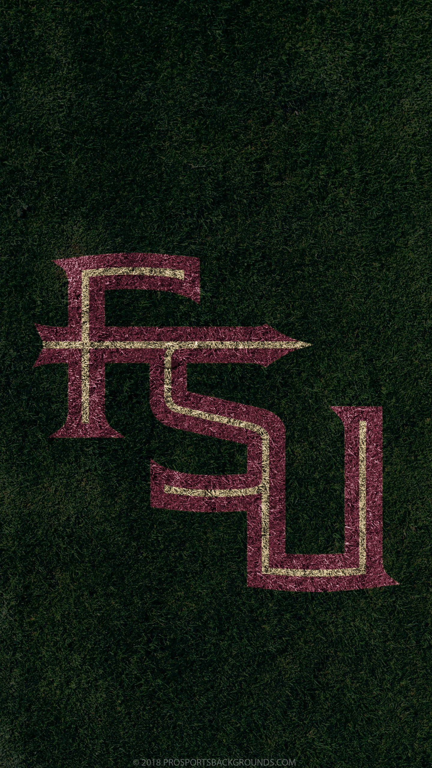 1440x2560 ... Florida State Seminoles 2018 ncaa football grass team logo wallpaper  for iphone andriod and windows mobile