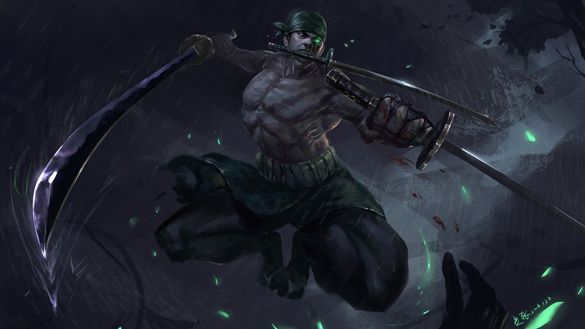 1920x1080 zoro wallpaper #1136575