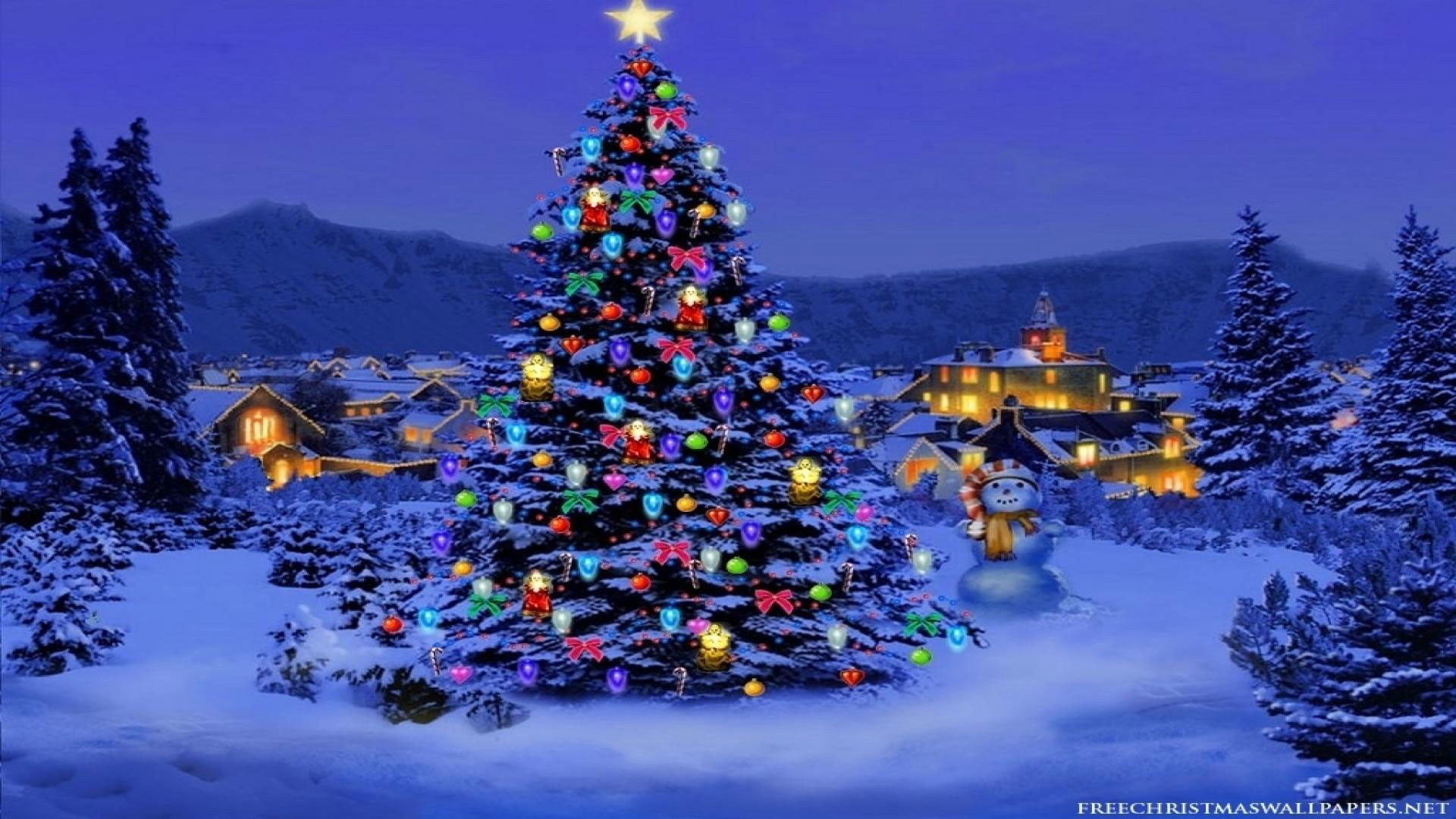 Christmas Tree Background Wallpaper (79+ Images