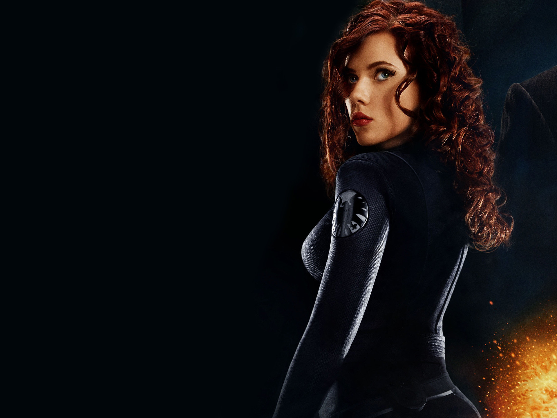 "1920x1440 Scarlett Johansson plays the Black Widow in ""The Avengers,"" which opens May  4"