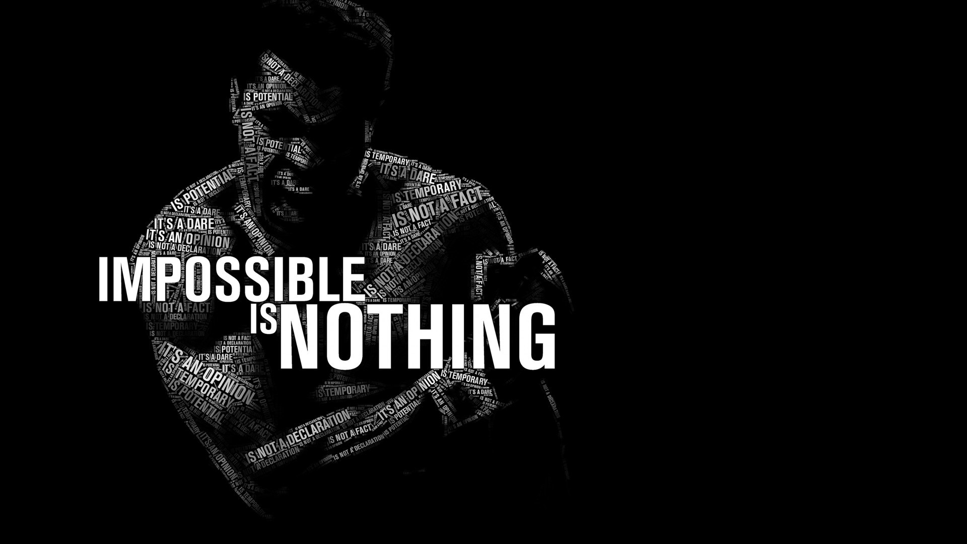 1920x1080 You transcended sports like no other. Ali Bomaye  https://www.hdwallpapers.net/quotes/impossible-is-nothing-muhammad-ali- wallpaper-548.htm